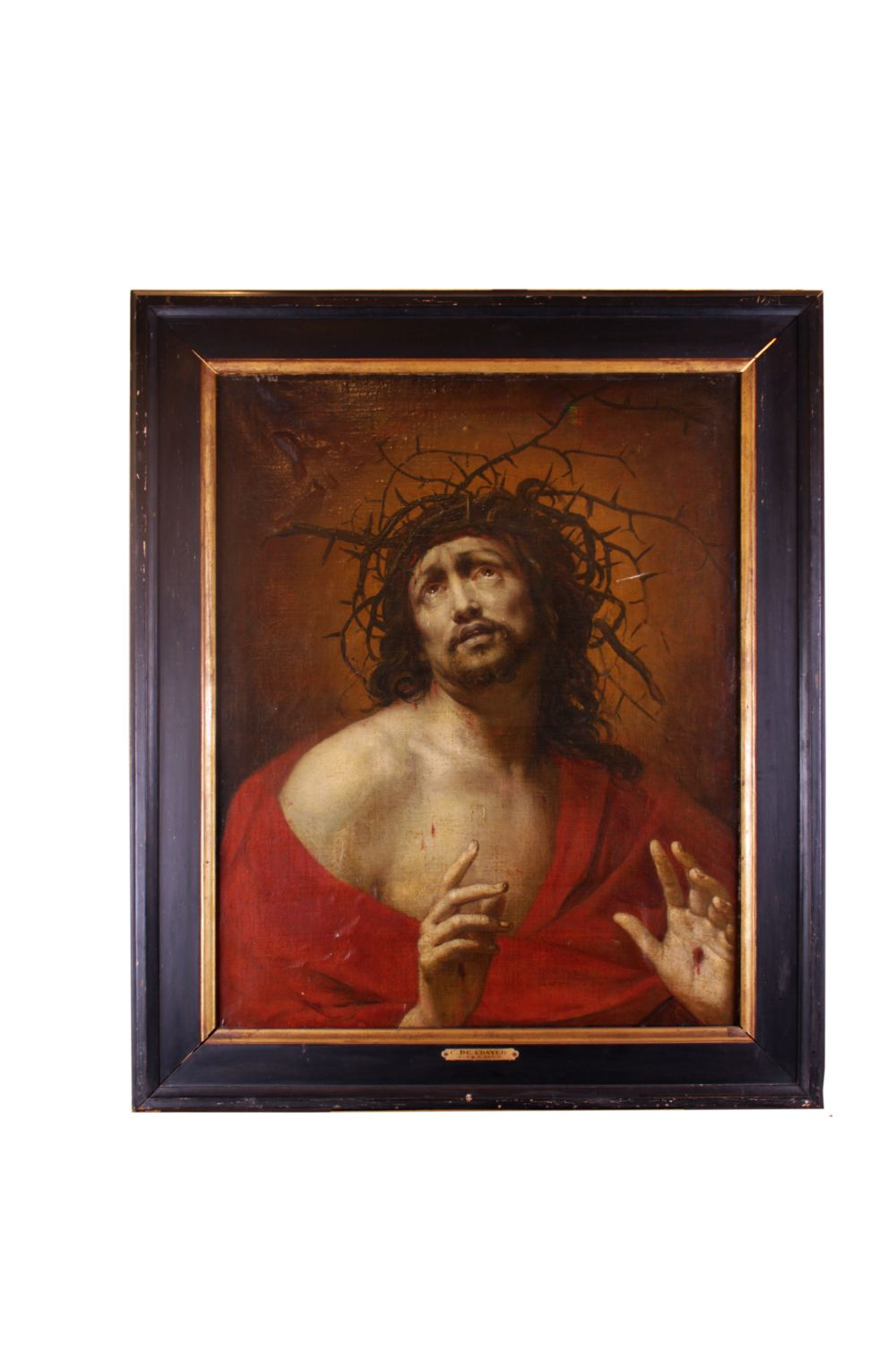 #104 Casper de Crayer Jesus with Crown of Thorns | Der dornengekrönte Jesus Image