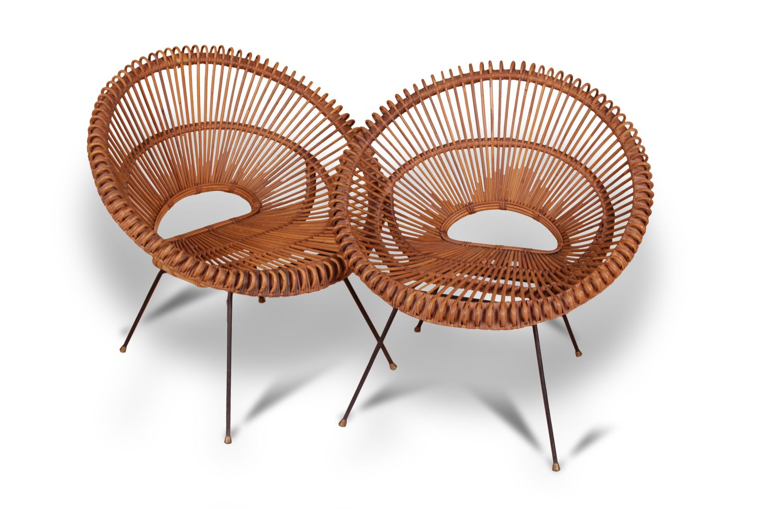 #131 by Janine Abraham and Dirk Jan Rol 2 Rattan Chairs | 2 Rattan Sessel Image