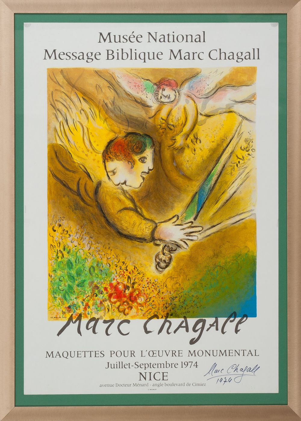 #8 Marc Chagall The Judging Angel | Der richtende Engel Image