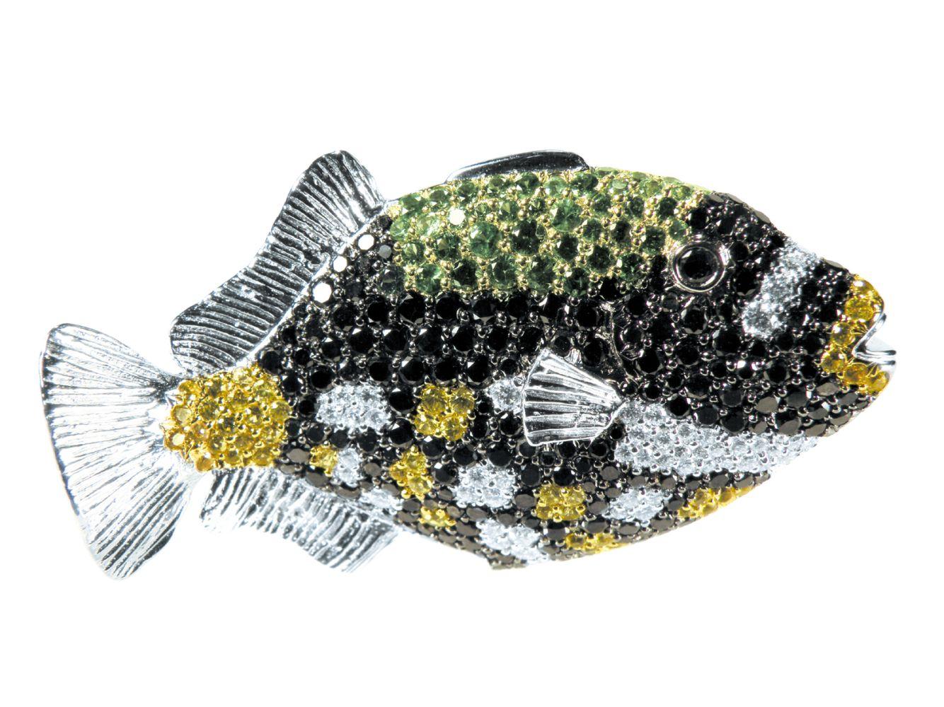 #20 Fish Brooch | Fisch-Brosche Image