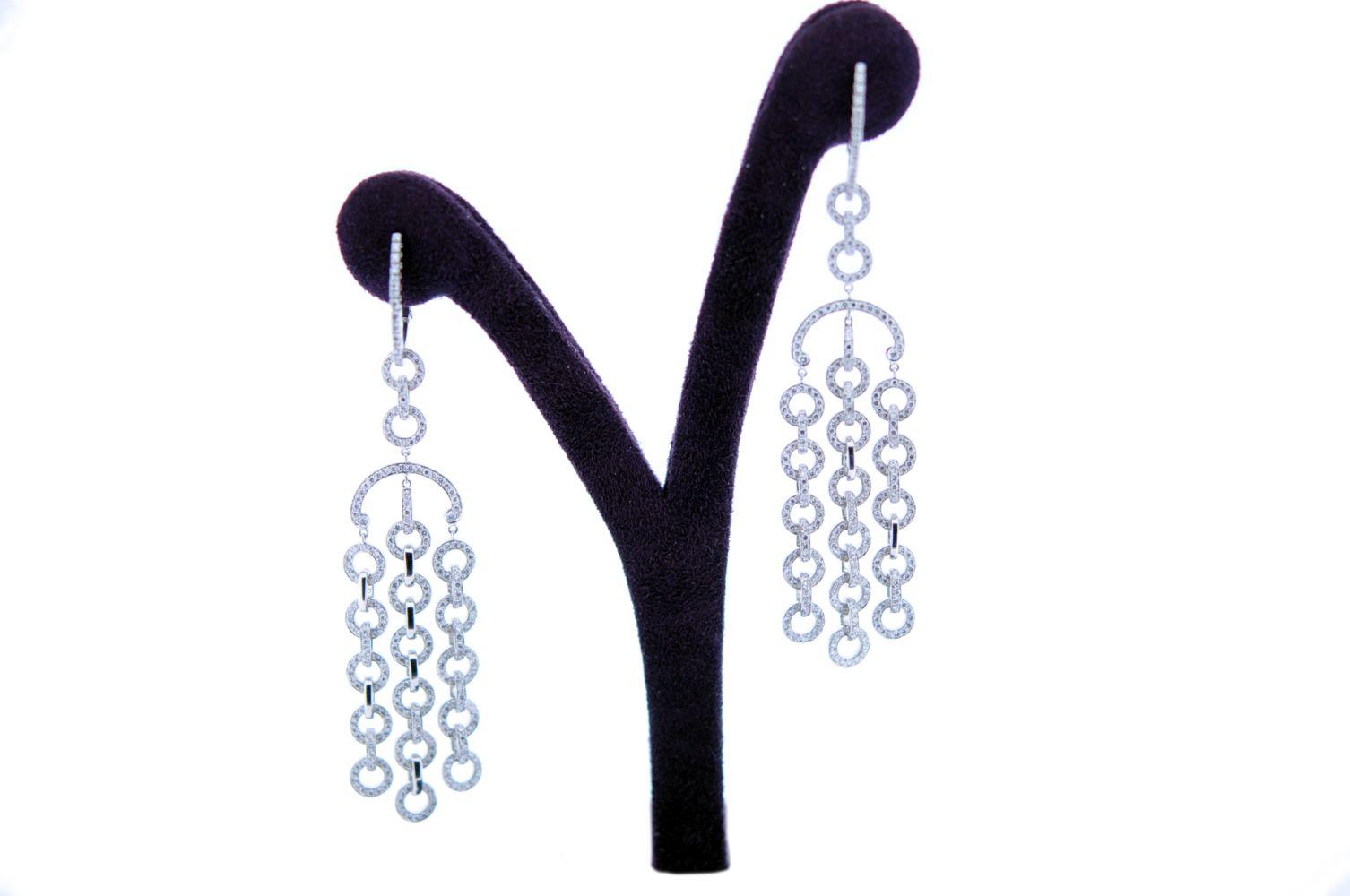 #29 Diamond Eardrops | Diamantohrgehänge Image