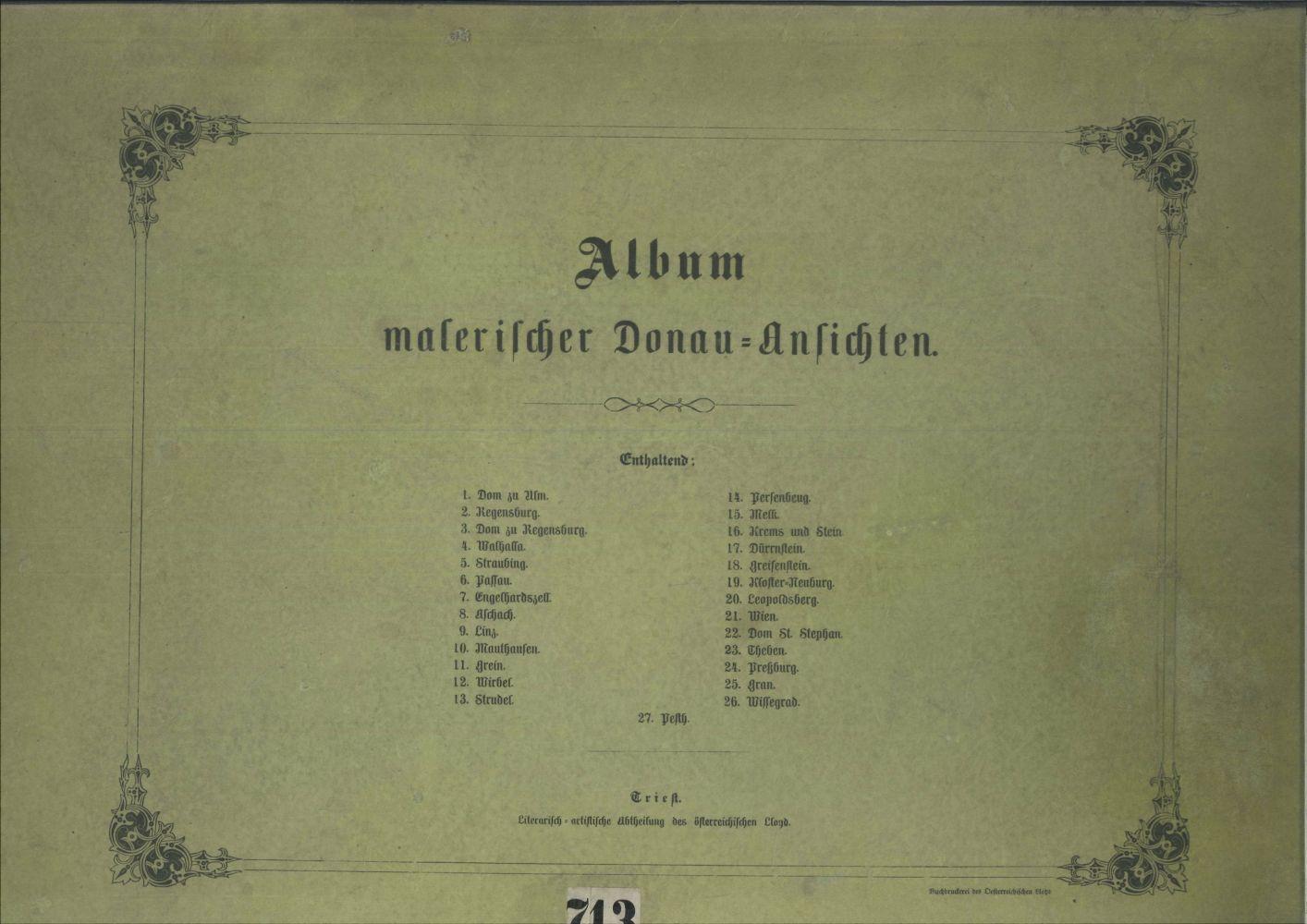 #143 ALT, Rudolf v., a. o Image