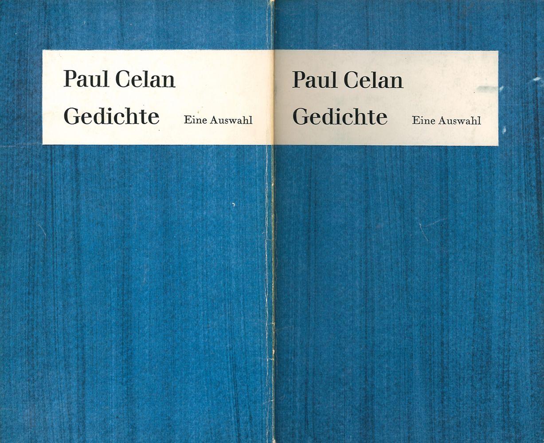 #76 CELAN, Paul [i. e. Paul Ancel] Image