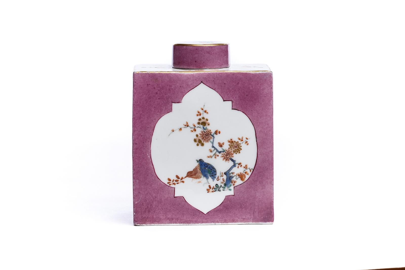 #160 Teedose, Meissen 1730 | Tea box, Meissen 1730 Image