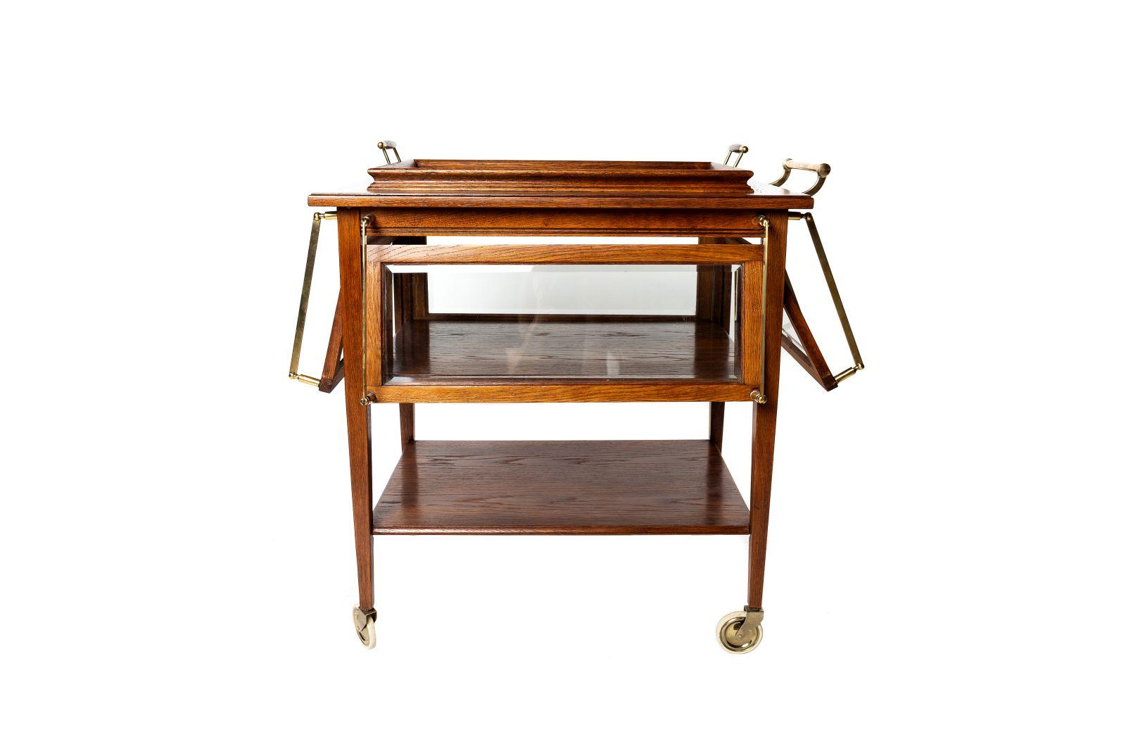 #105 Art Nouveau Bar Table, early 20th C.   Jugendstil Bartisch, Anfang 20. Jh. Image