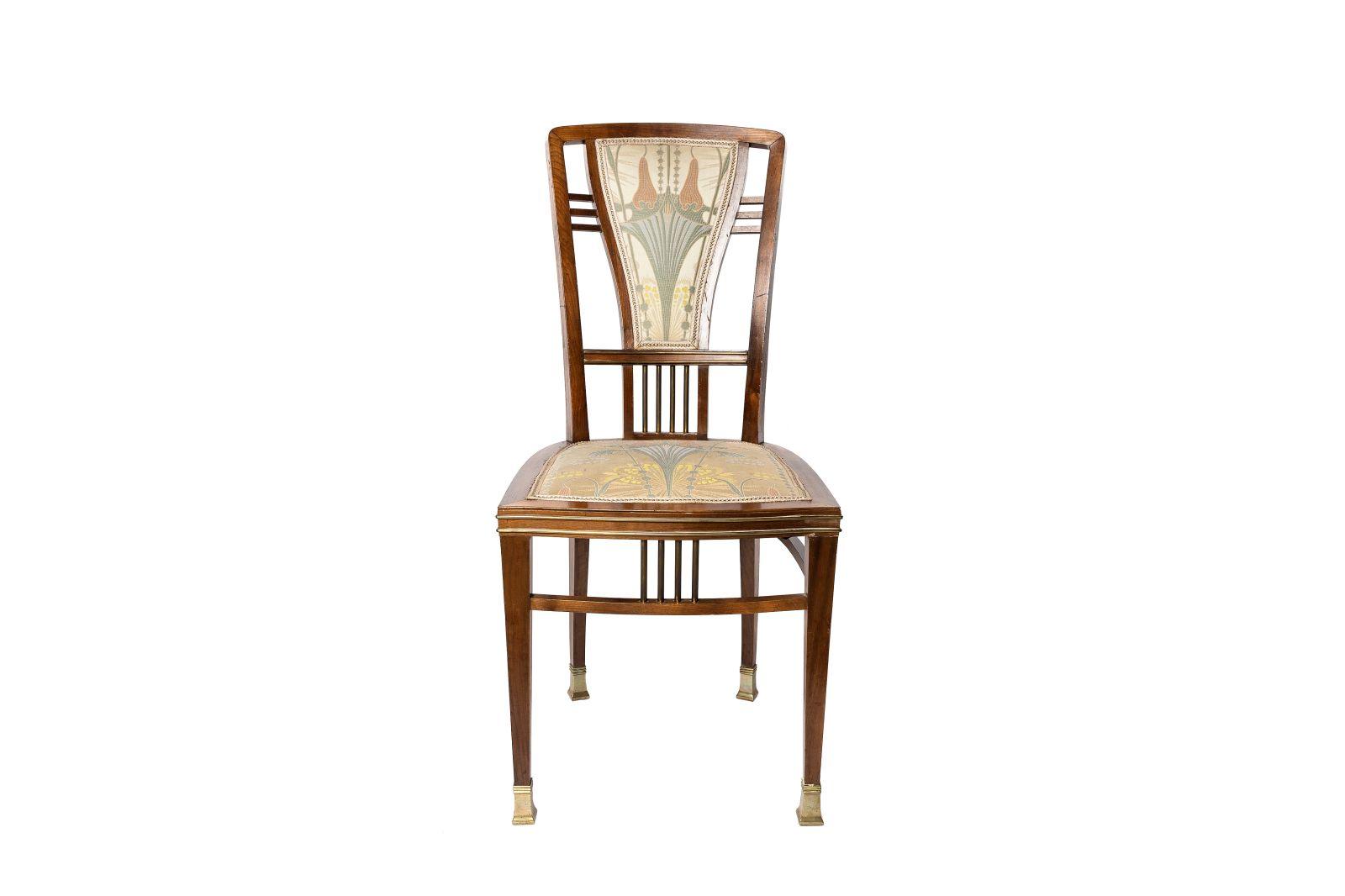 #113 Art Nouveau chair   Jugendstil Stuhl Image