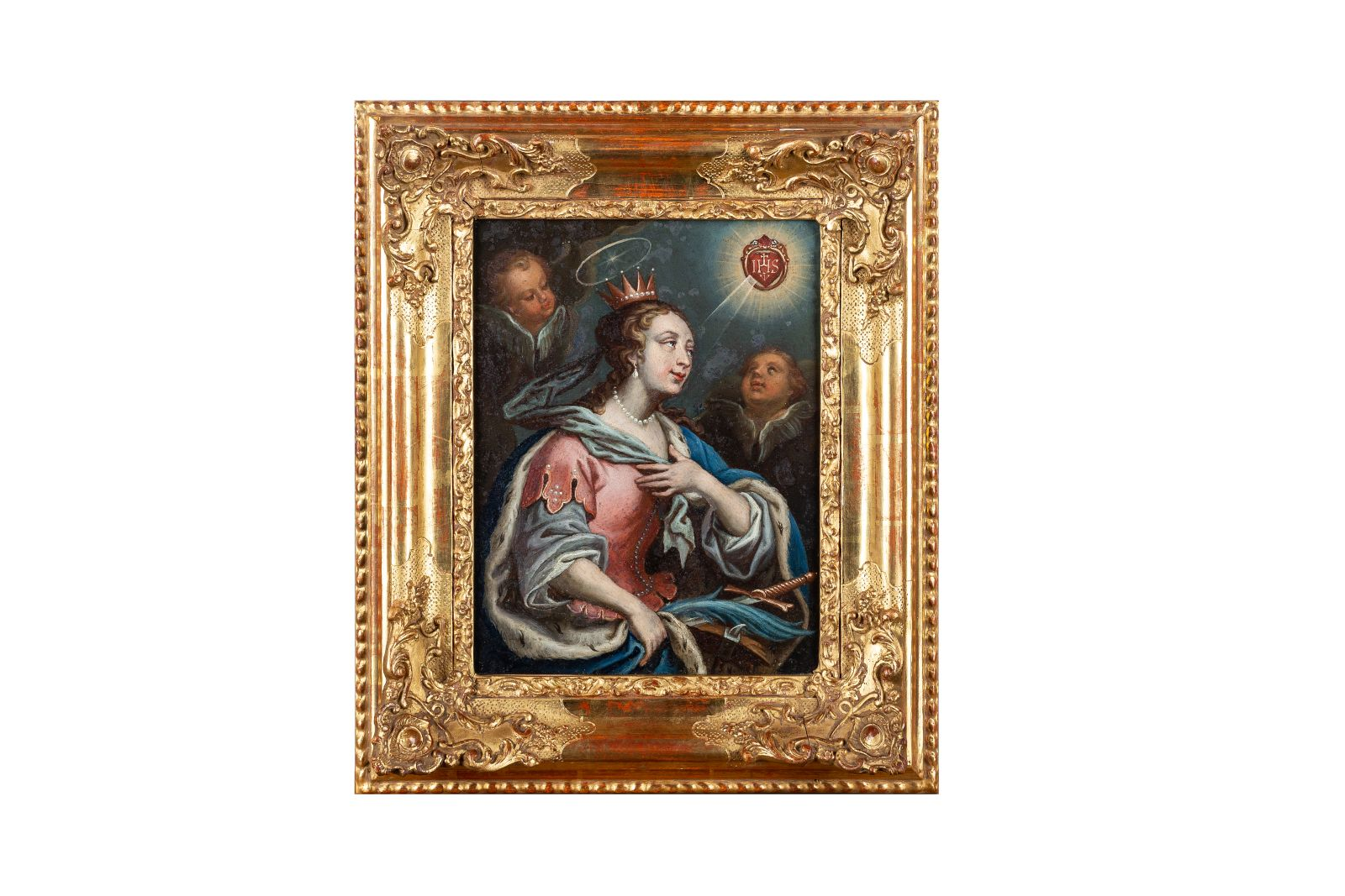 #129 Queen of Heaven wreathed by angels | Image