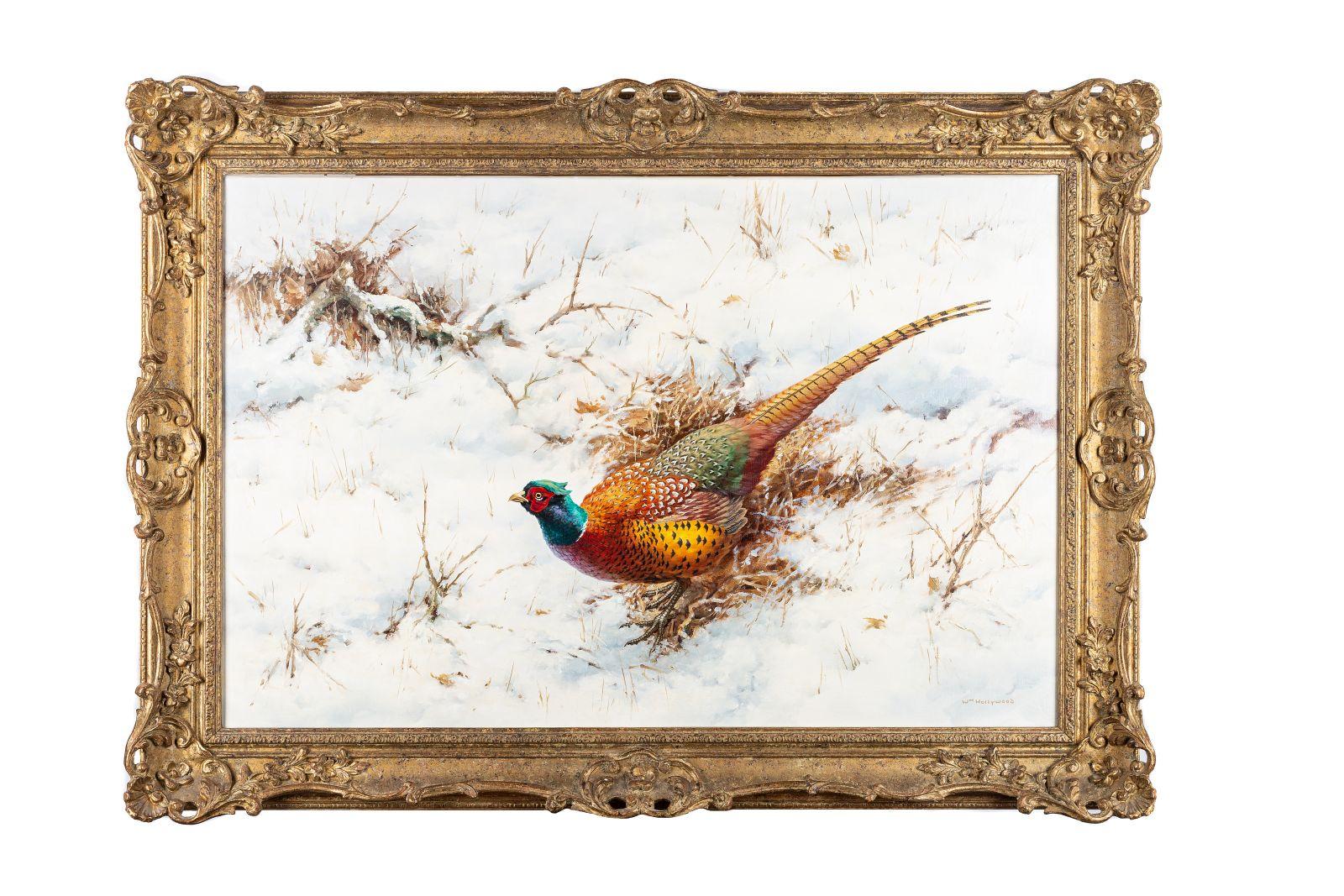 "#132 William Hollywood, ""pheasant""   William Hollywood, ""Fasanhahn"" Image"