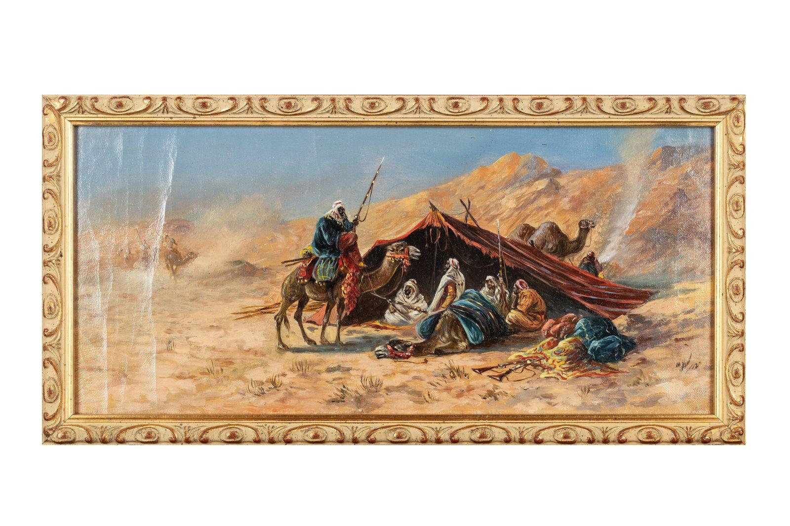 """#159 """"Bedouin camp picture 3""""   """"Beduinenlager Bild 3"""" Image"""