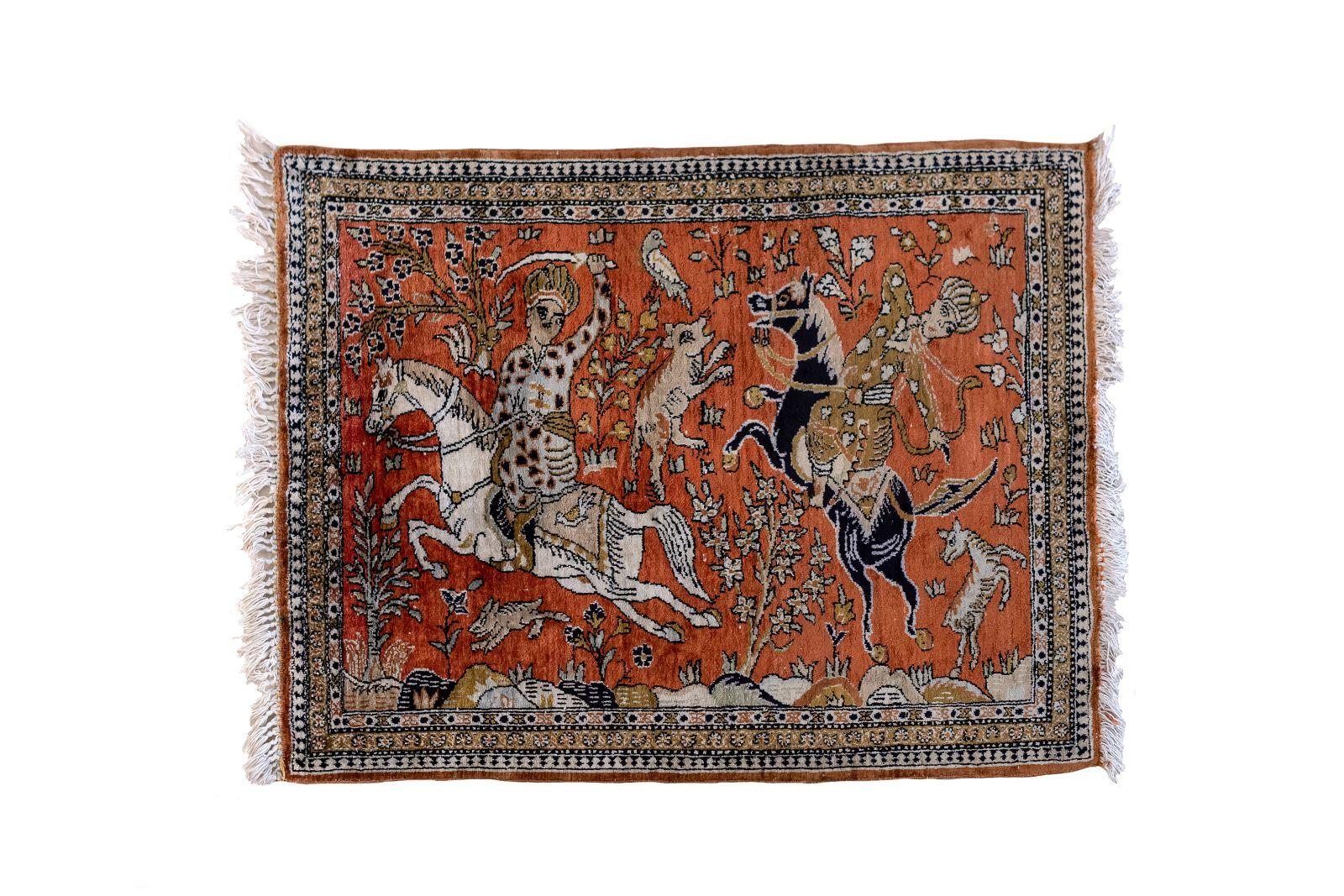 #16 Carpet GHOM silk | Teppich GHOM Image