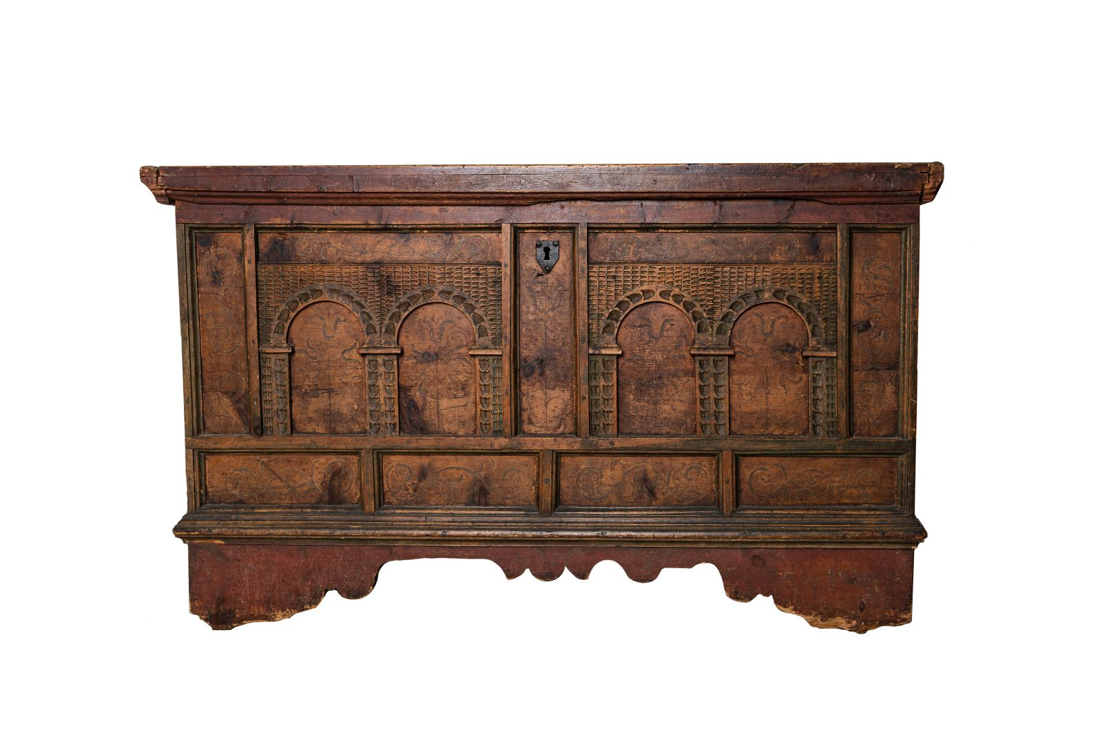 #173 Wooden chest   Holztruhe Image