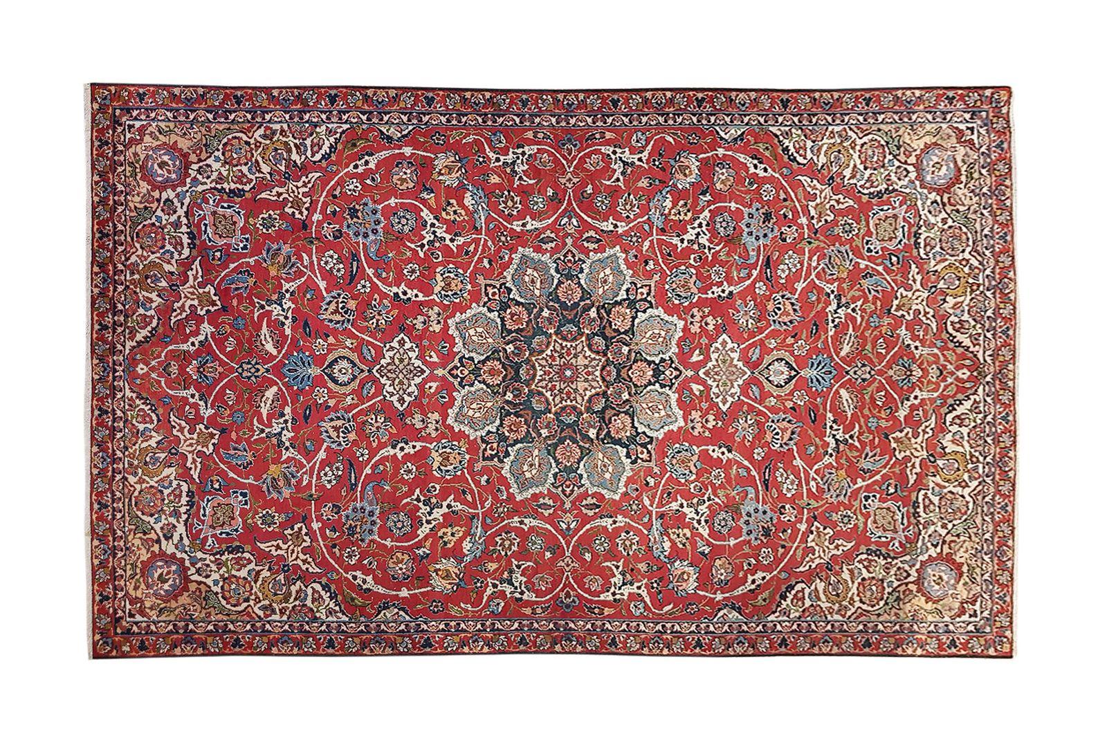 #188 Isfahan wool carpet, 1920-1930 | Isfahan Woll-Teppich, 1920-1930 Image