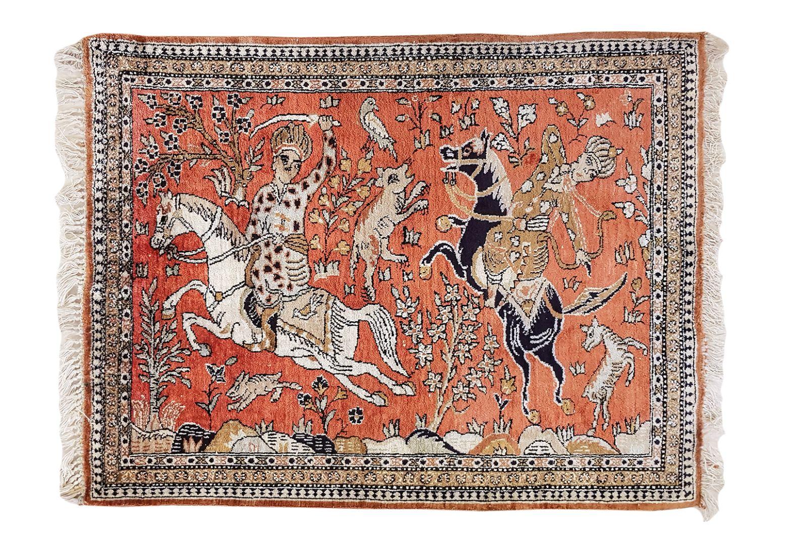 #190 Rider carpet | Reiter-Teppich Image