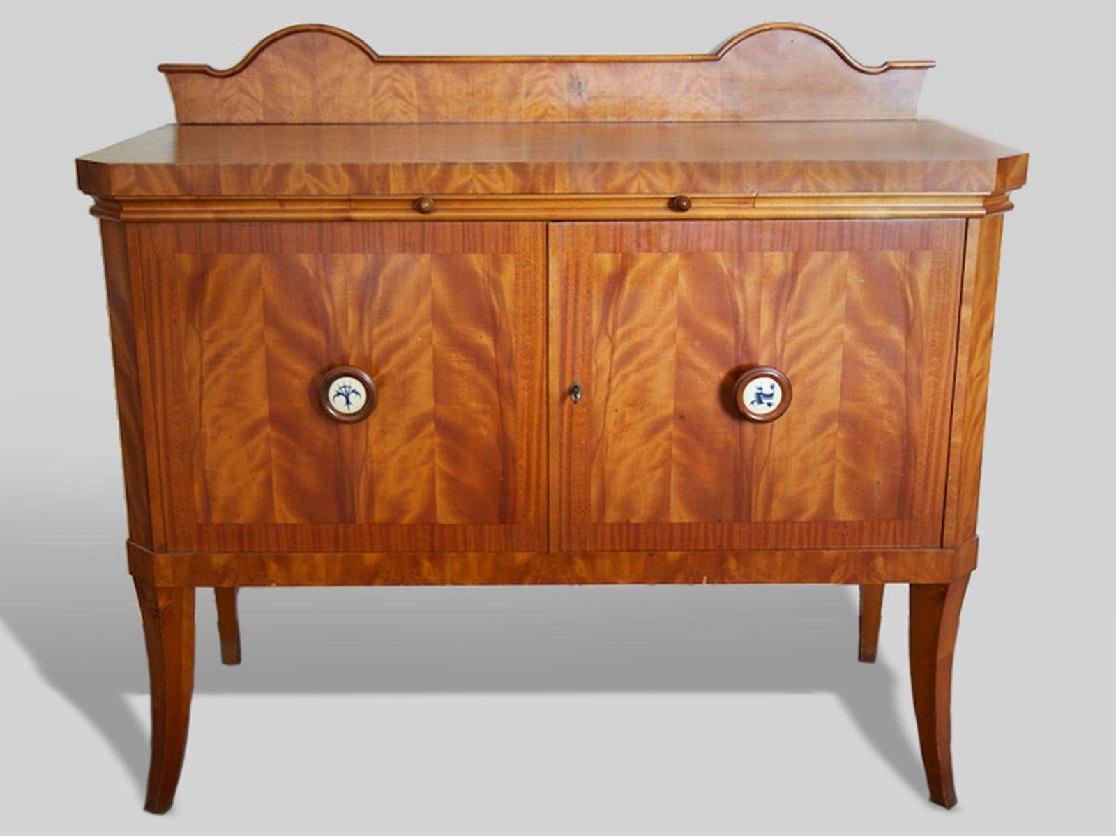 #42 Crockery cabinet Biedermeier style | Geschirrschrank Biedermeierstil Image