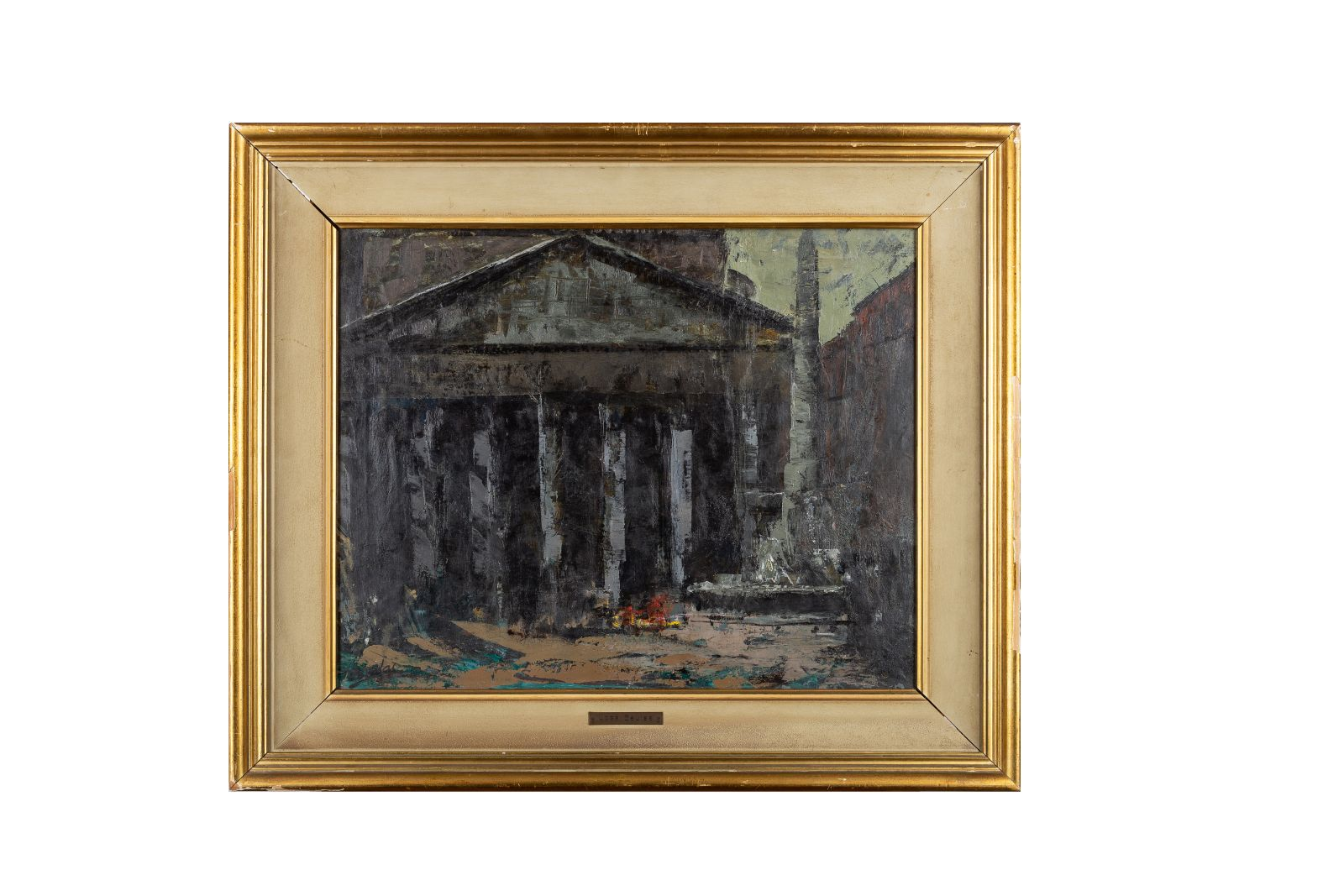 "#46 José Beulas Recasens, ""The Pantheon in Rome"", around 1955 