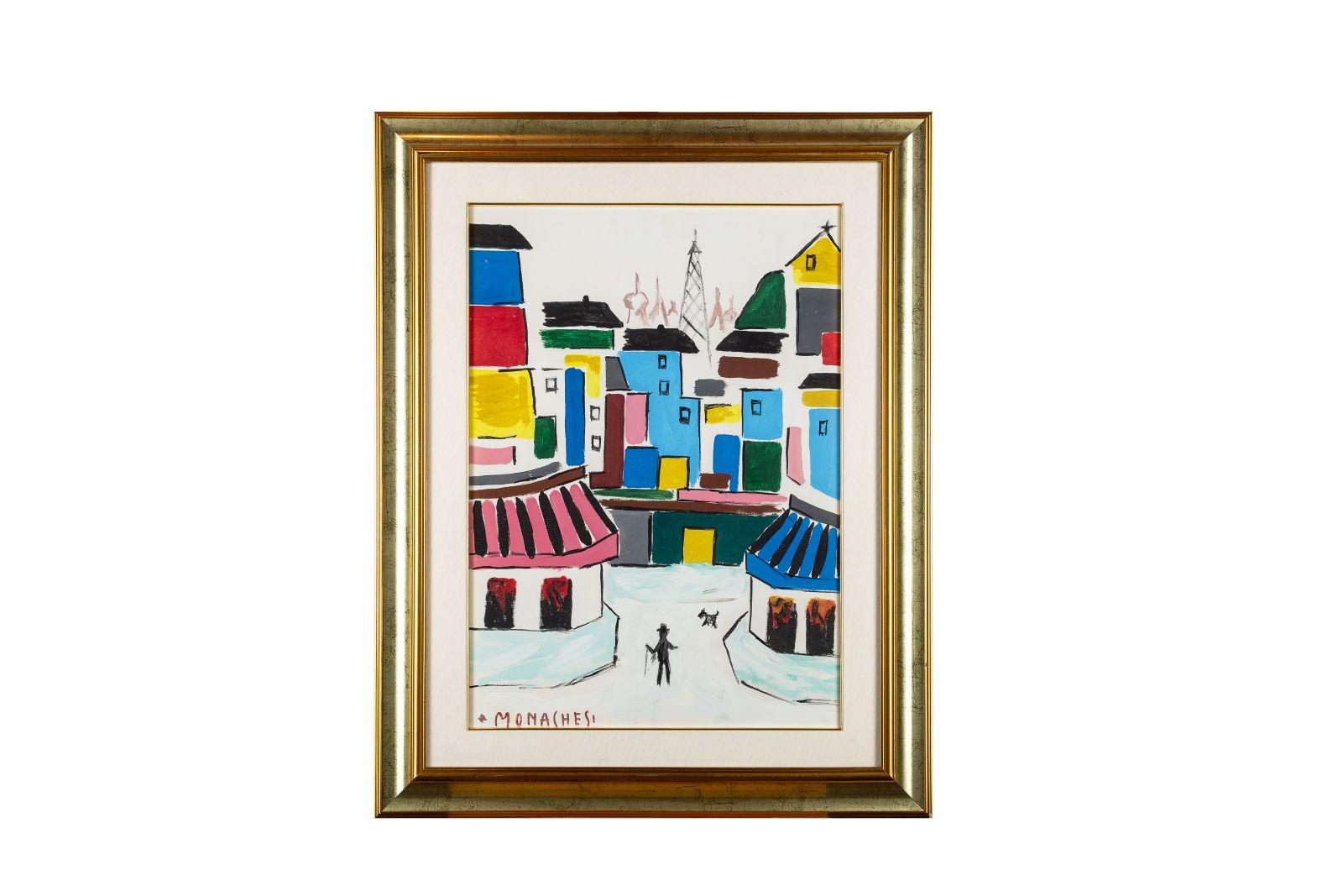 #70 Sante Monachesi, Paris, Oil, 1970s | Sante Monachesi, Paris, Öl, 1970er Image