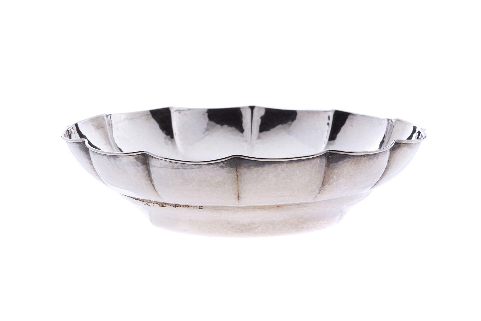 #120 Silver biscuit dish | Gebäckschale Image