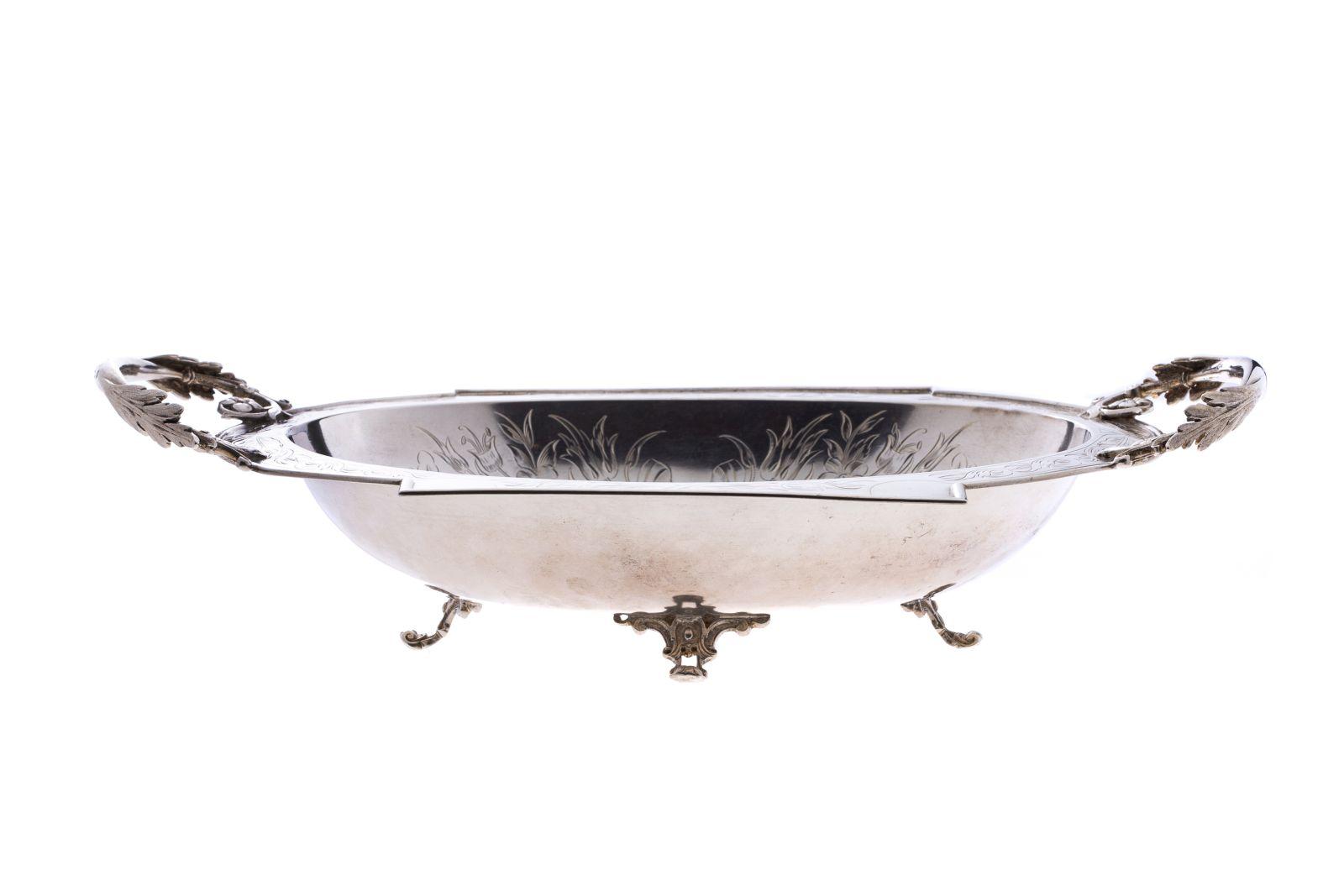 #121 Silver bowl with handle | Silberne Schale mit Henkel Image