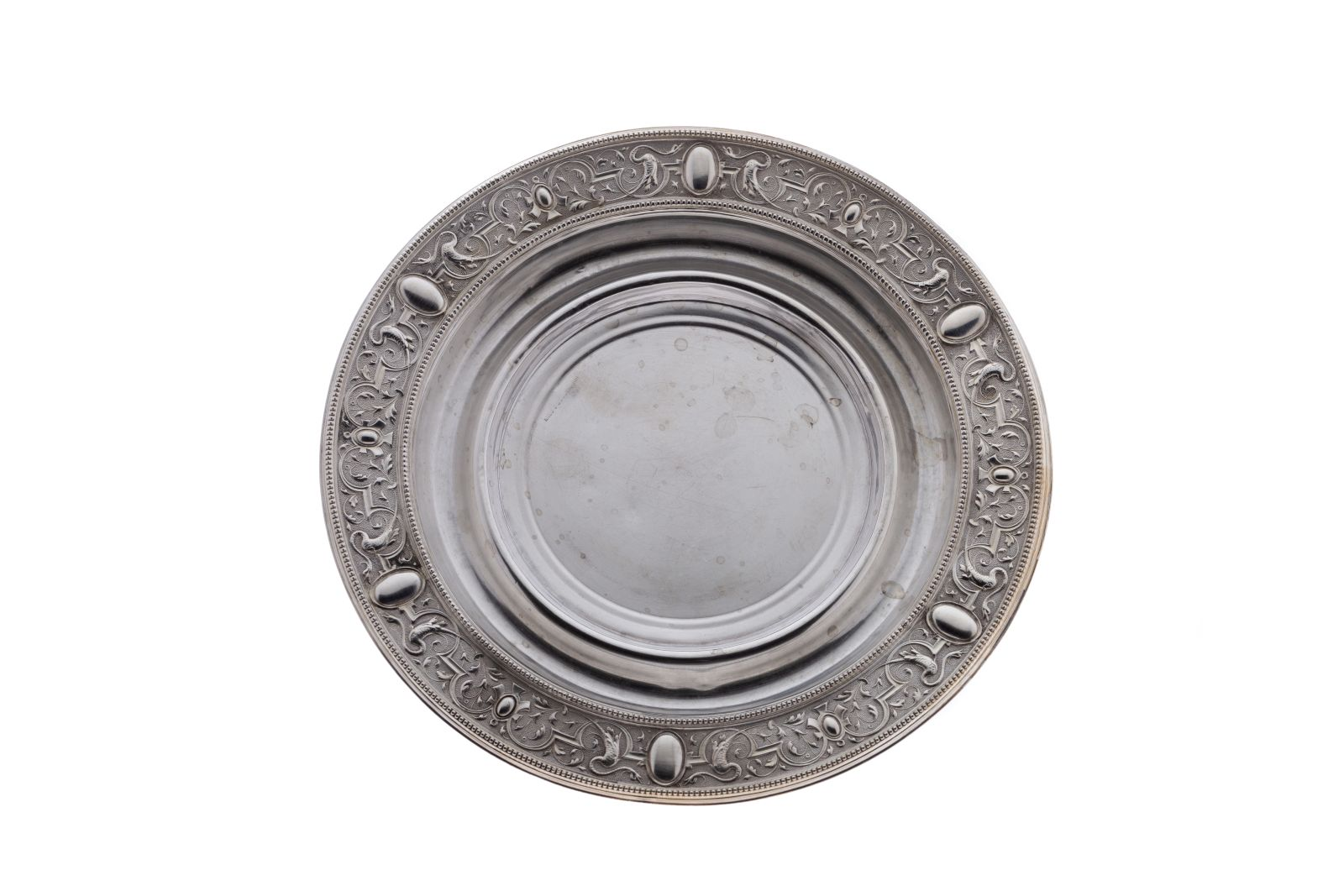 #126 A silver plate | Teller Image