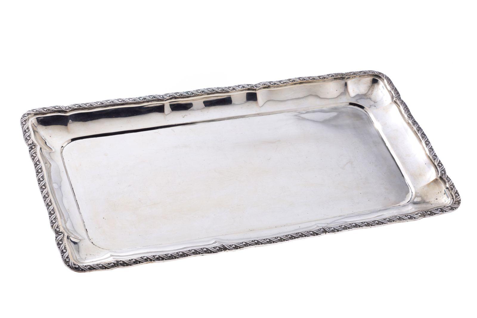 #129 Template plate quadrangular | Vorlageplatte viereckig  Image