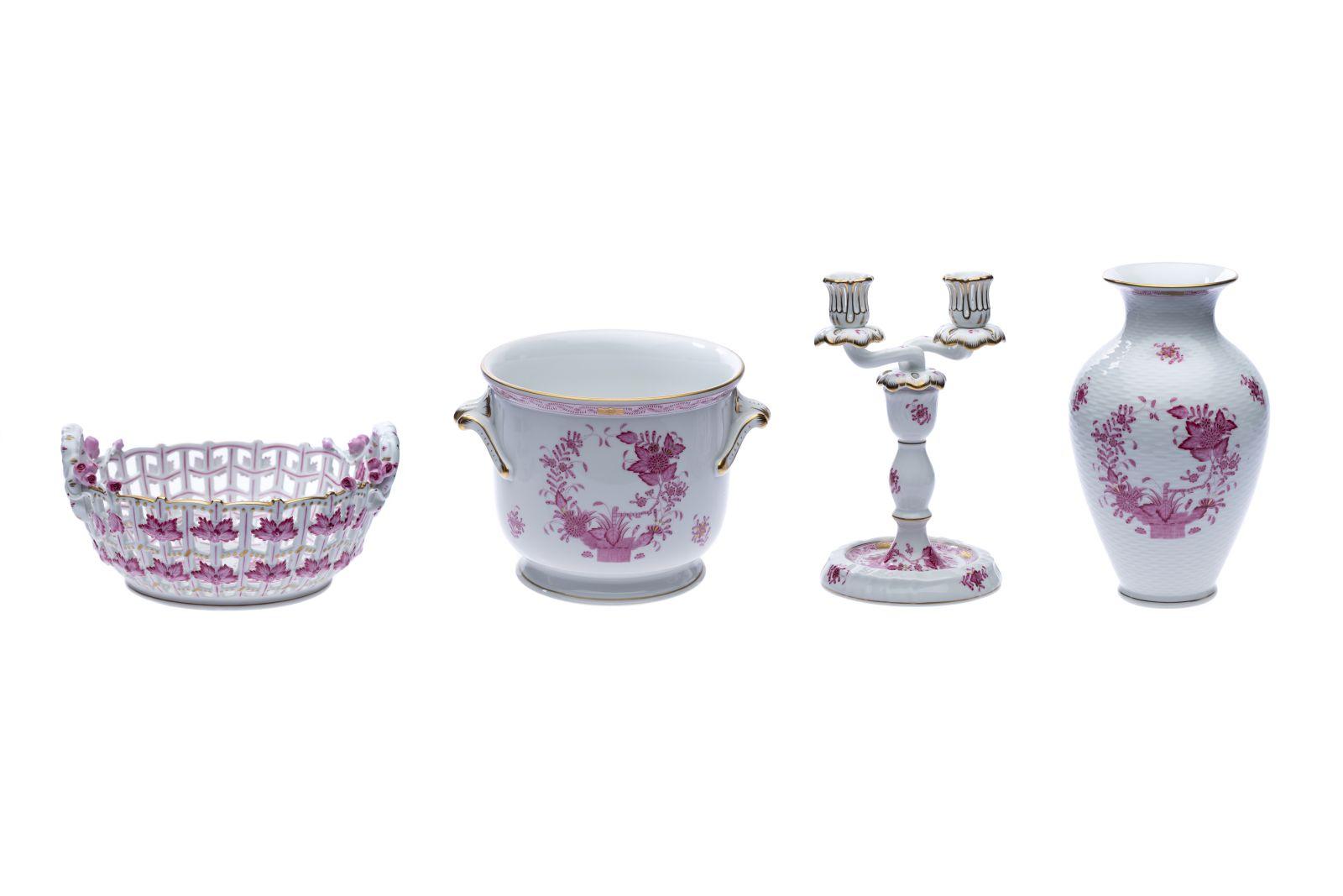 #16 Flower pot, flower vase, candle holder and fruit basket | Blumentopf, Blumenvase, Kerzenständer und Früchtekorb Image