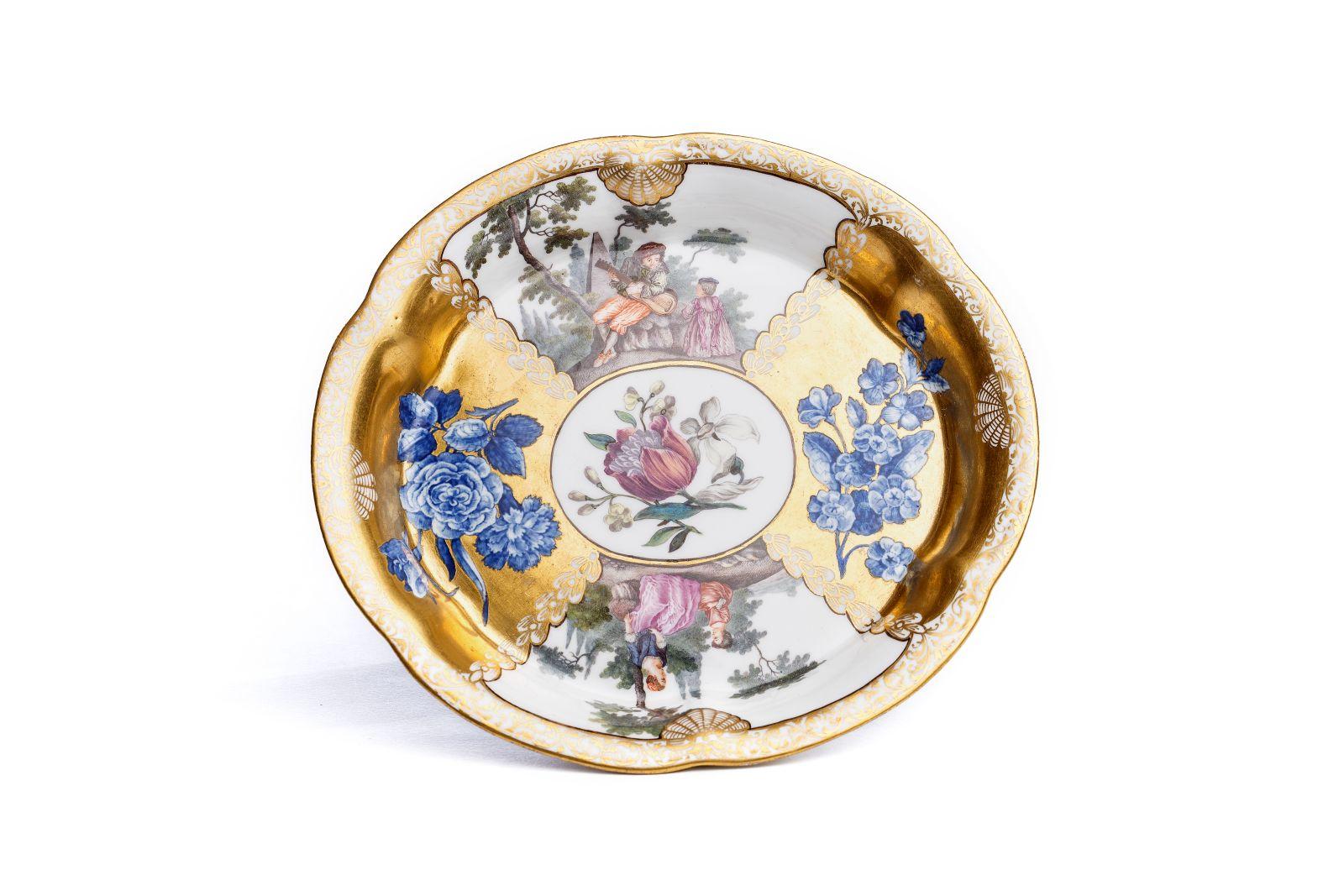 #26 Ornamental bowl, Meissen 1740 | Zierschale, Meissen 1740 Image