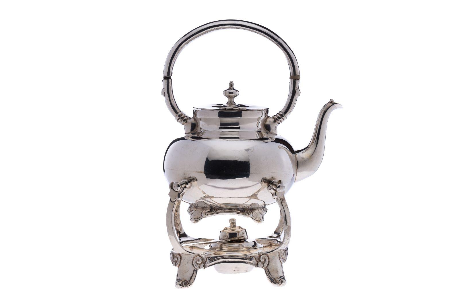 #63 Hot water teapot with rechaud | Heißwasserteekanne mit Rechaud Image