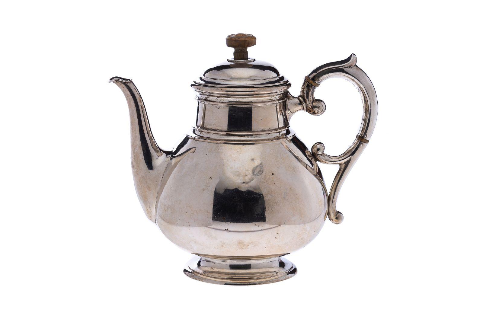#66 Teapot with wooden handle | Teekanne mit Holzhenkel Image