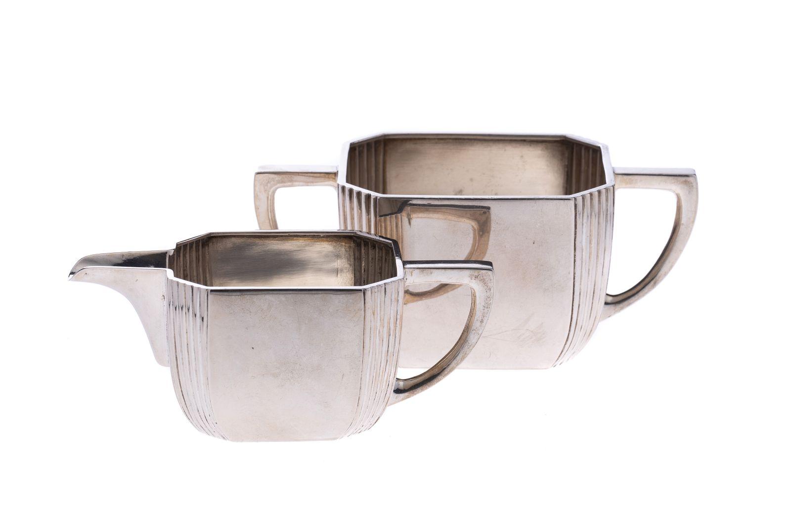 #71 Milk jug and sugar bowl Austria - Hungary | Milchkännchen und Zuckerdose Österreich - Ungarn Image