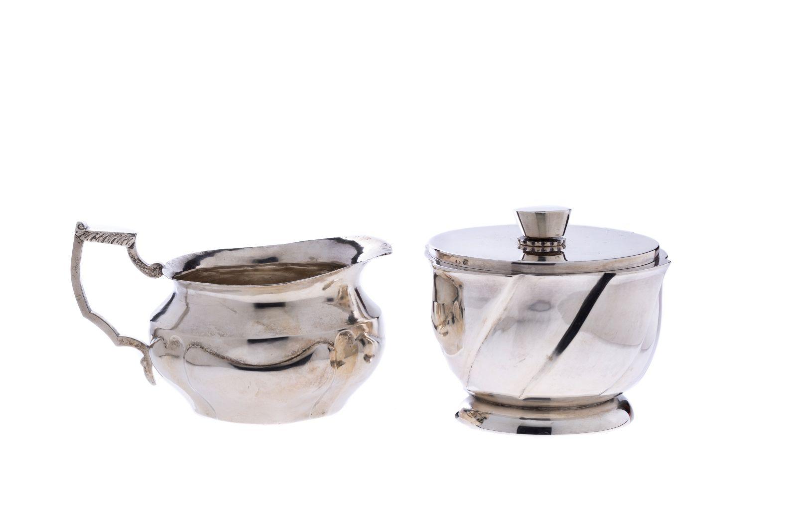 #77 Milk jug and sugar bowl | Milchkännchen und Zuckerdose Image