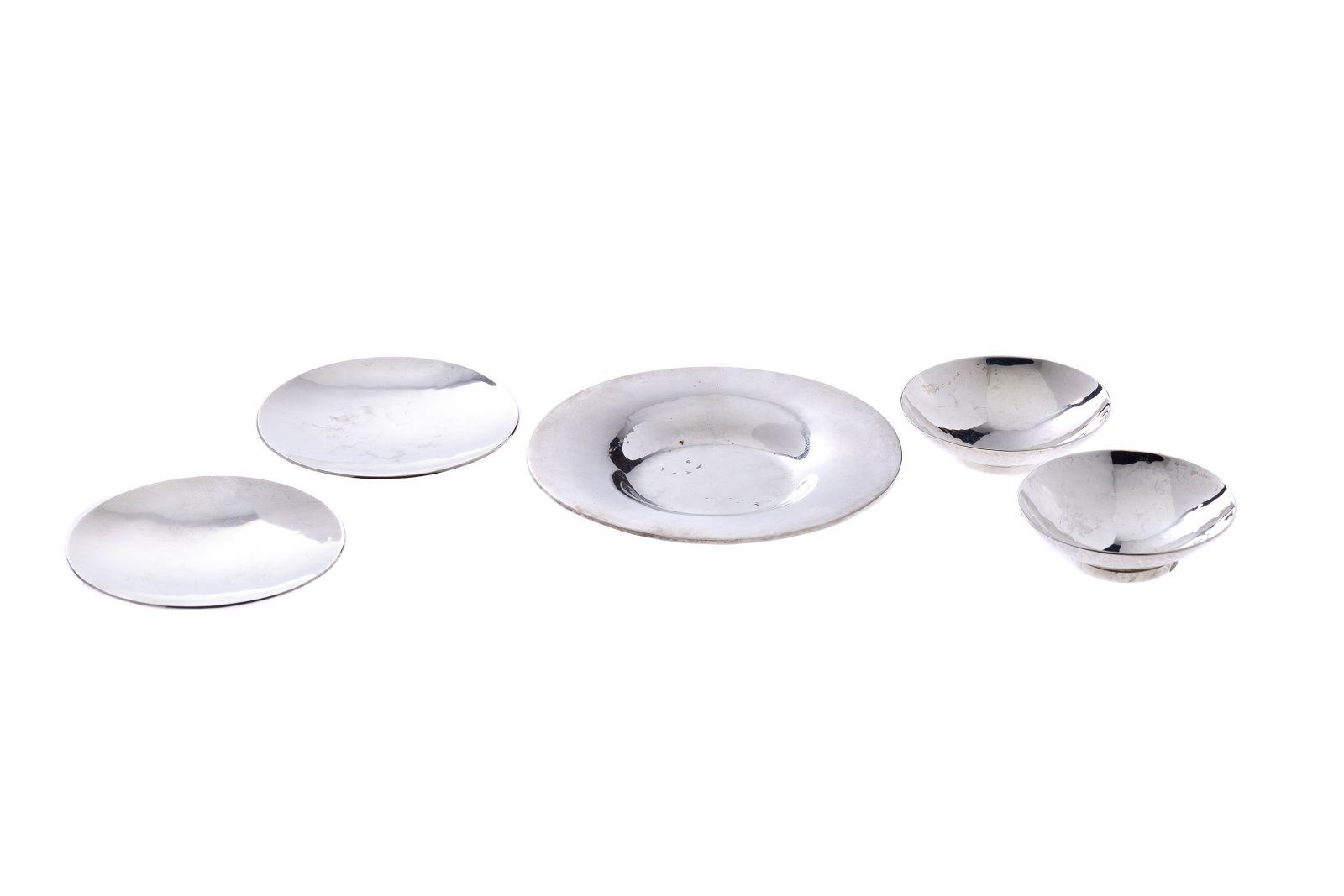 #95 Convolute of silver bowls | Konvolut aus Silberschalen Image