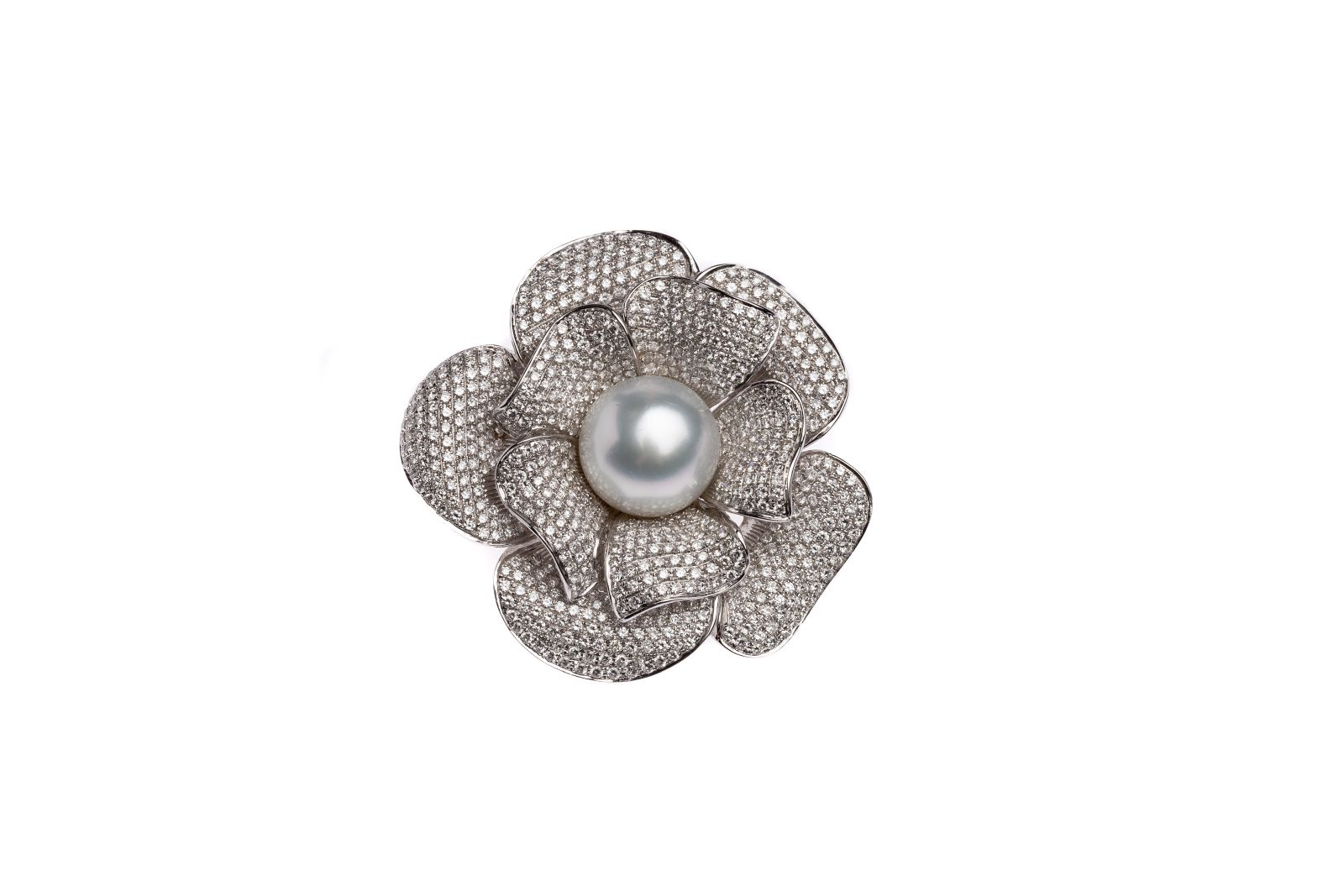 #105 Flowers brooch | Blüten- Broche Image