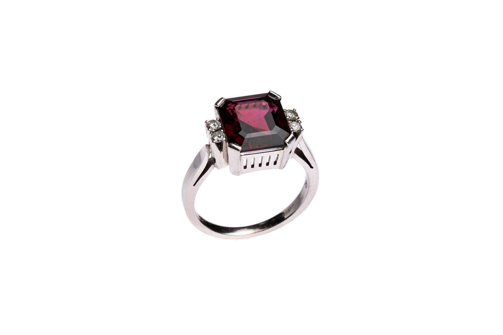 #136 Ladies ring   Damenring  Image