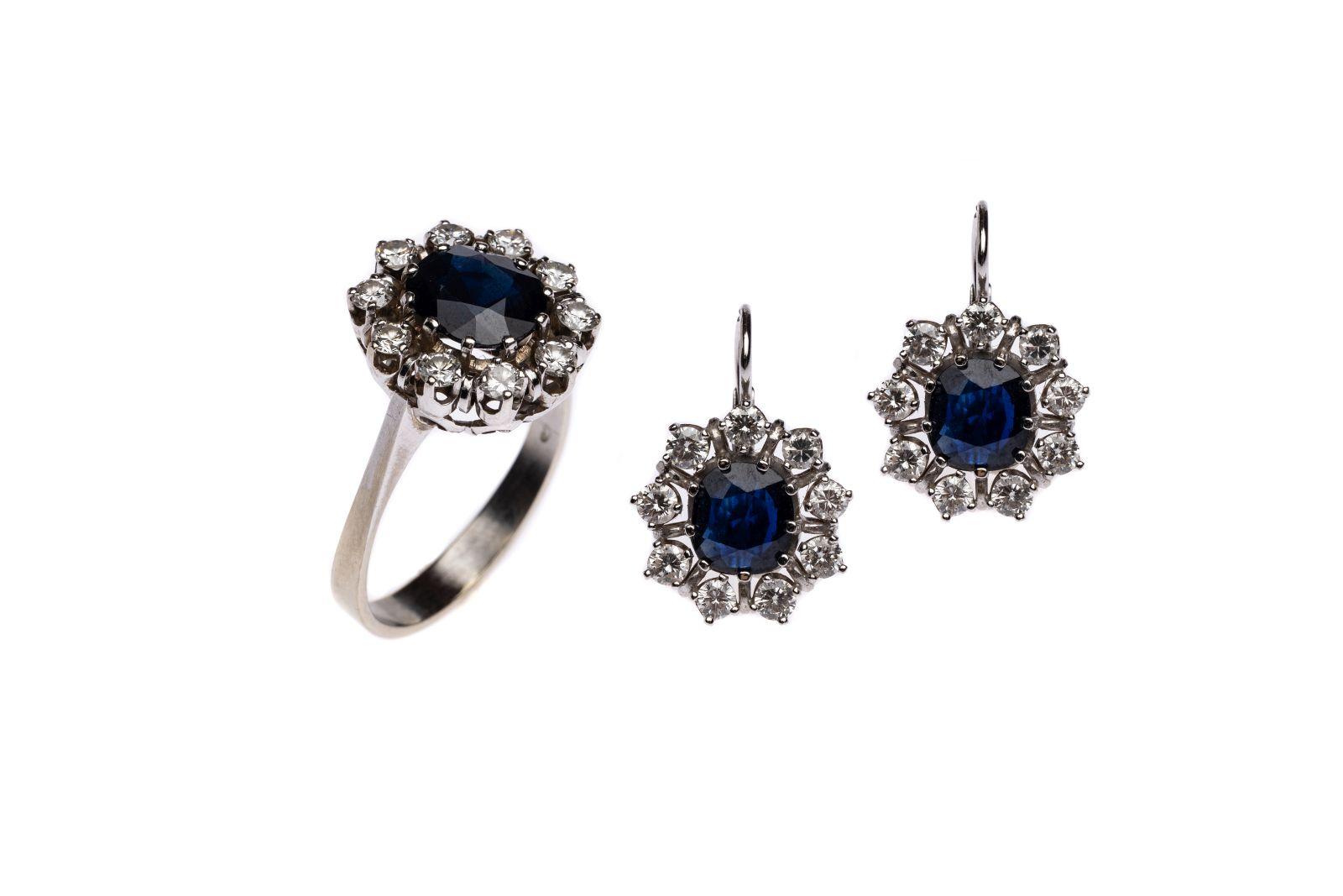 #147 Ladies ring and ear wires | Damenring und Ohrbrisuren Image
