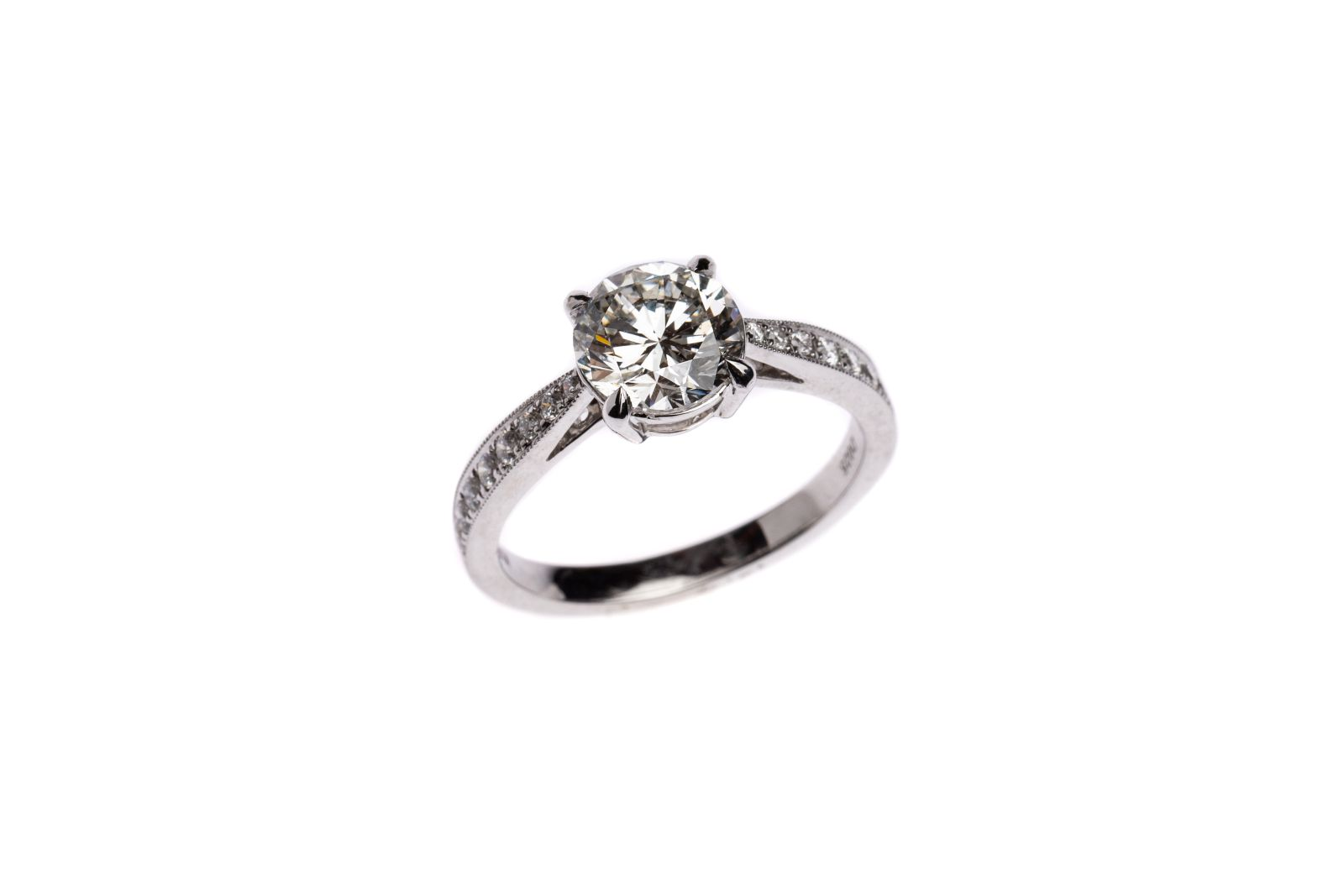 #163 Ladies ring   Damenring Image