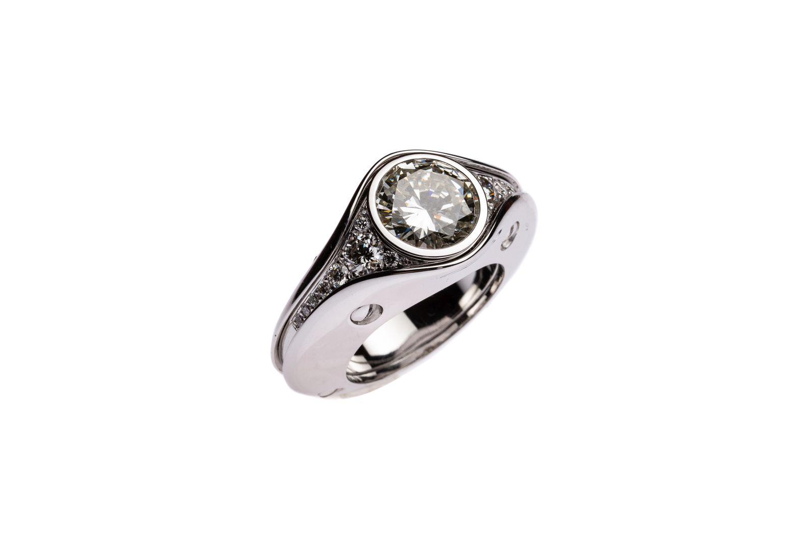 #173 Ladies ring | Damenring  Image