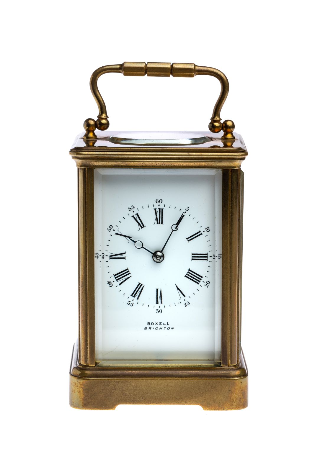 #18 English Travel Clock | Englische Reiseuhr Boxell Brighton Image