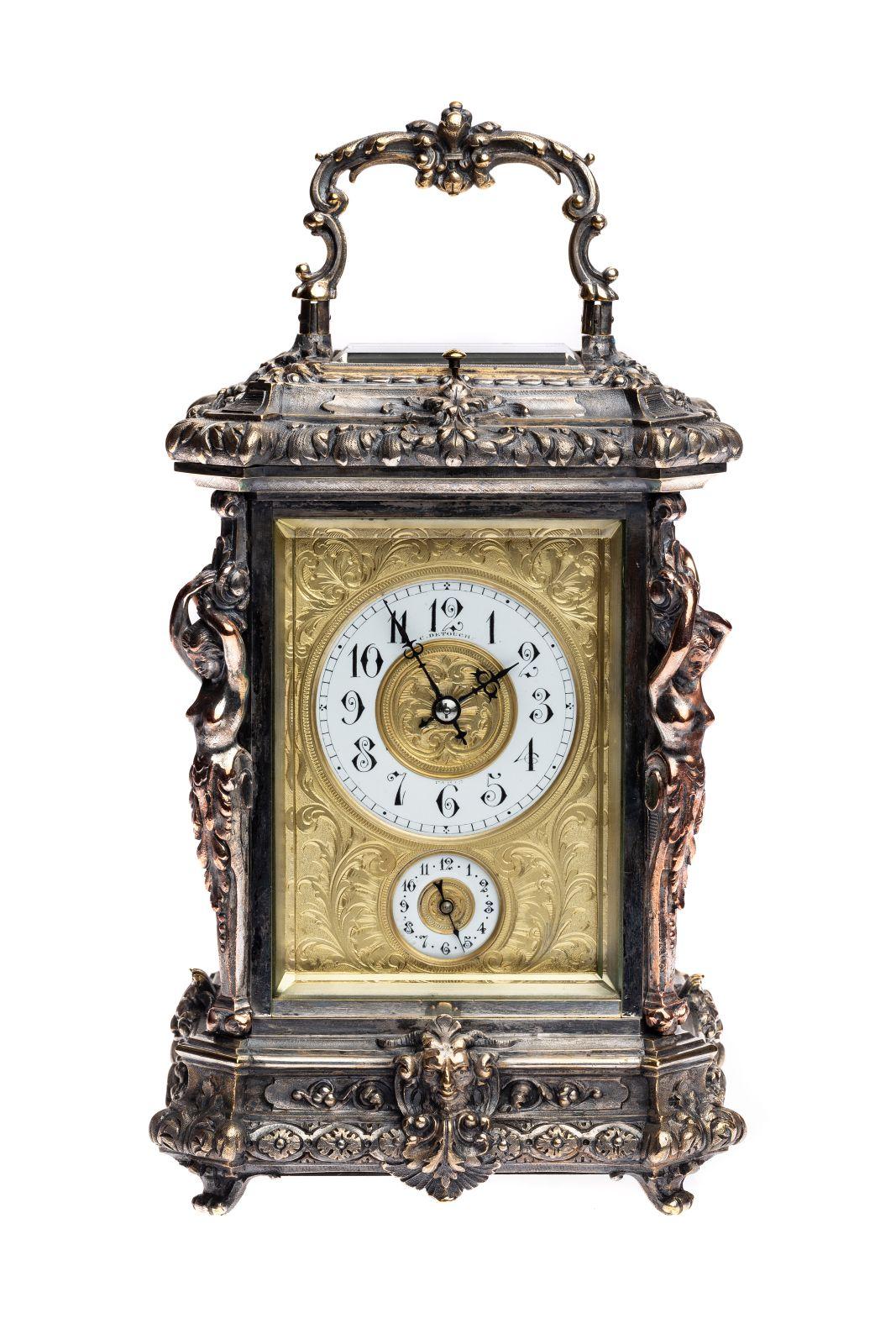#20 Travel clock Paris 1880 | Reiseuhr Paris 1880 Image