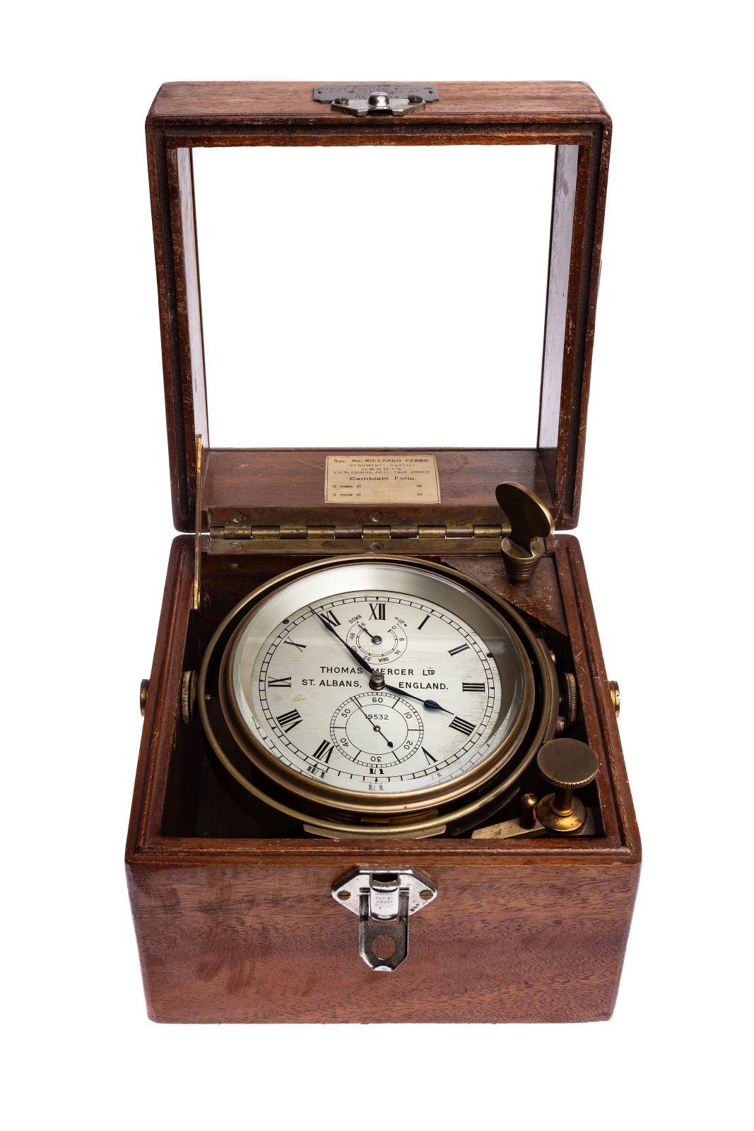 #21 Thomas Mercer Marinechronometer London Image