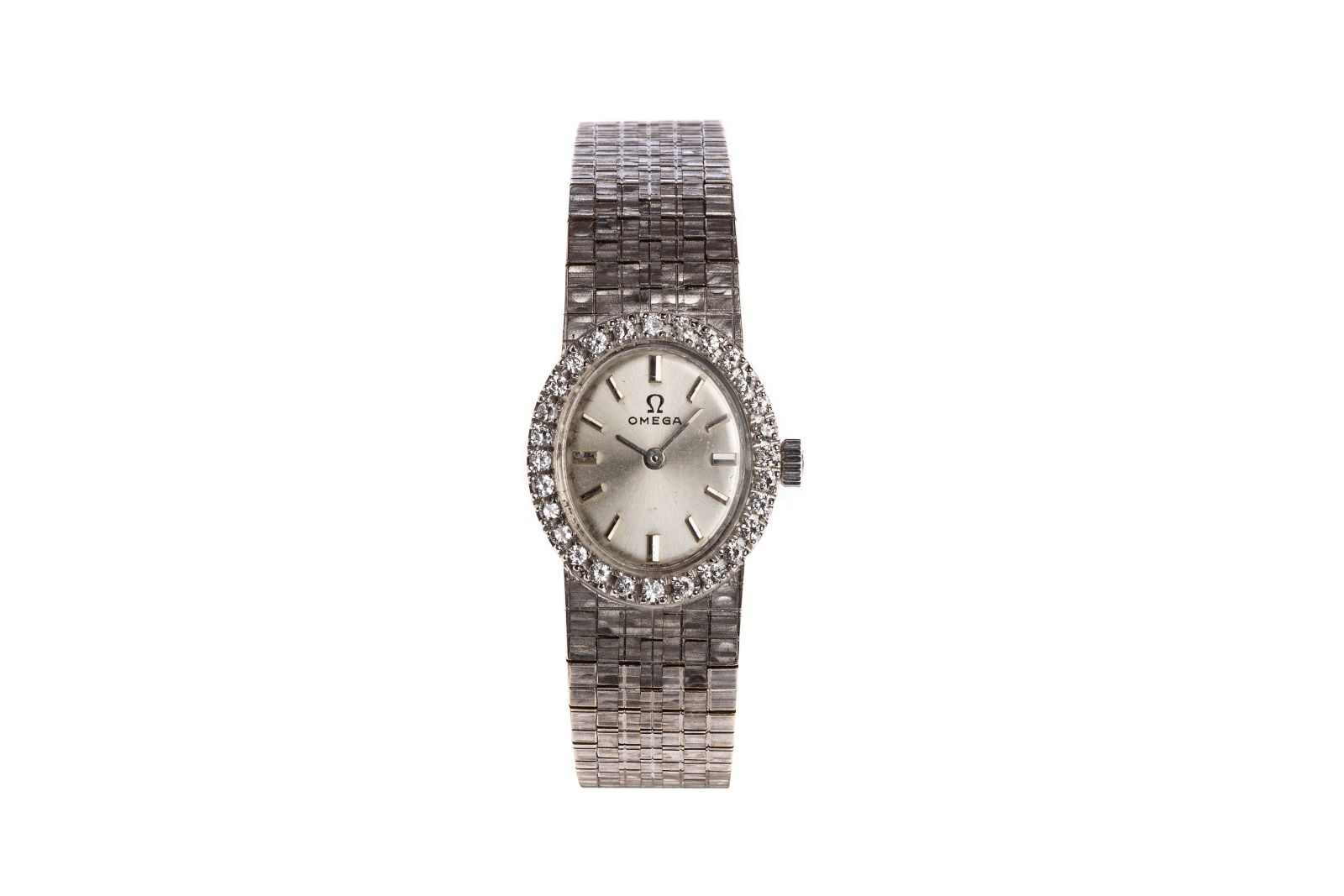 #22 Omega Ladies Brillant watch | Omega Damen Brillantuhr Image