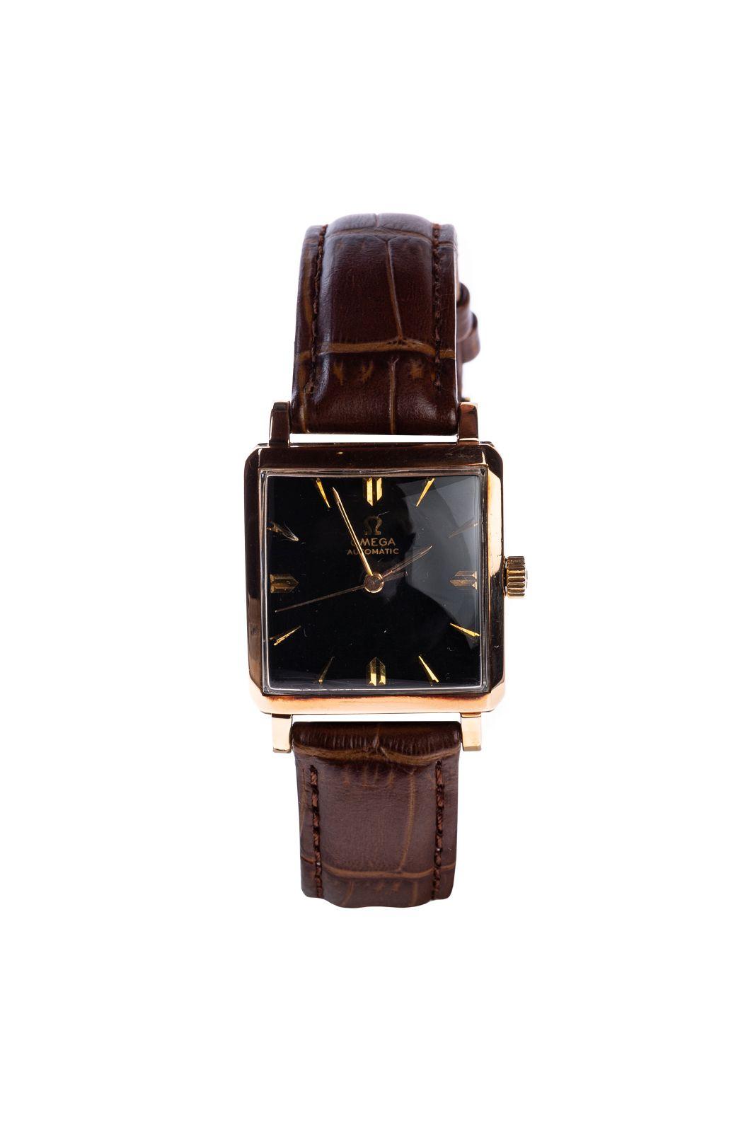 #29 Vintage Omega in pink gold | Vintage Omega in Rotgold Image