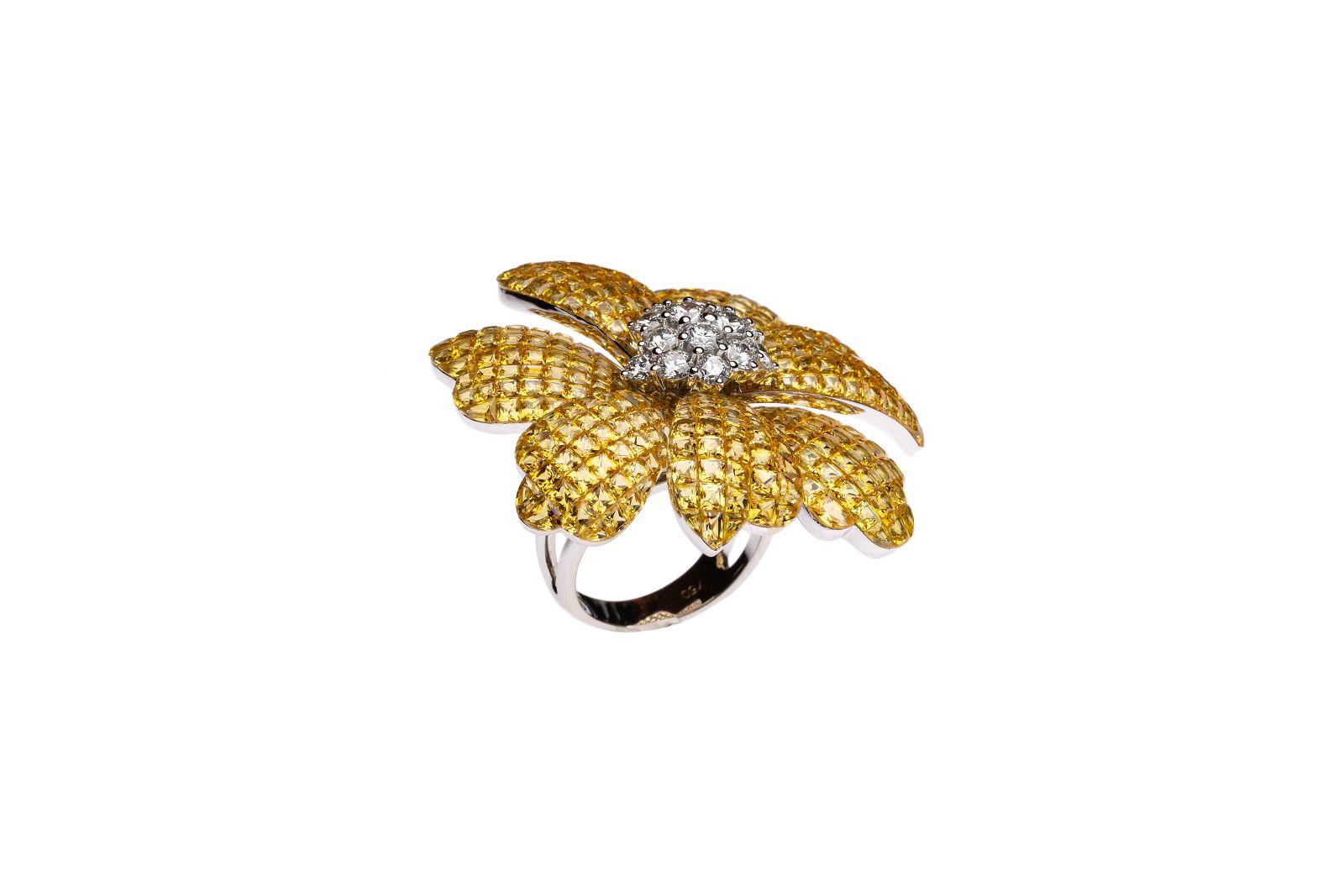 #58 Flower ring | Blumenring Image