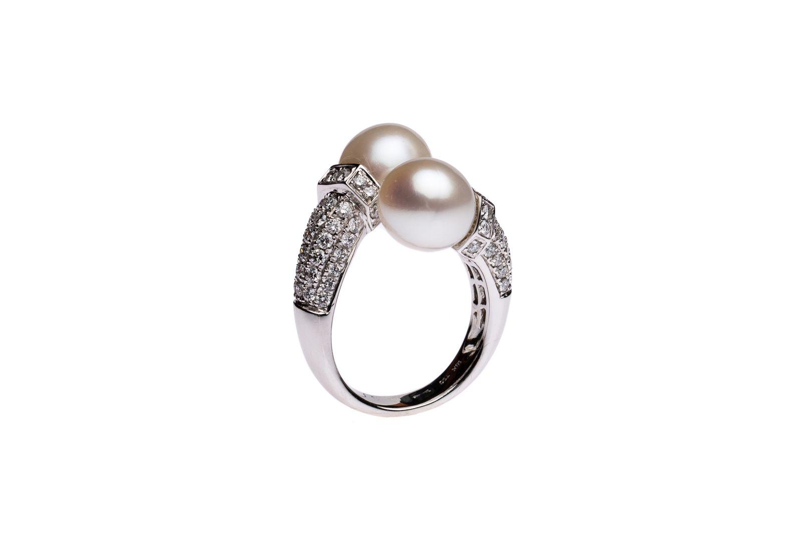 #60 Pearl Ring | Kulturperlen Ring Image