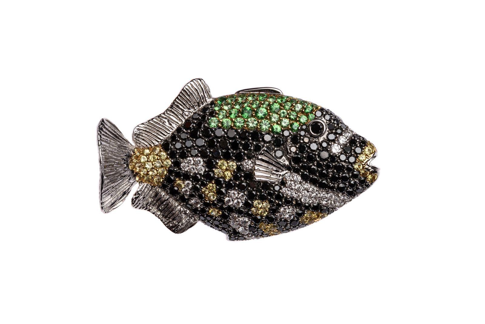 #66 Fish brooch | Fischbrosche Image