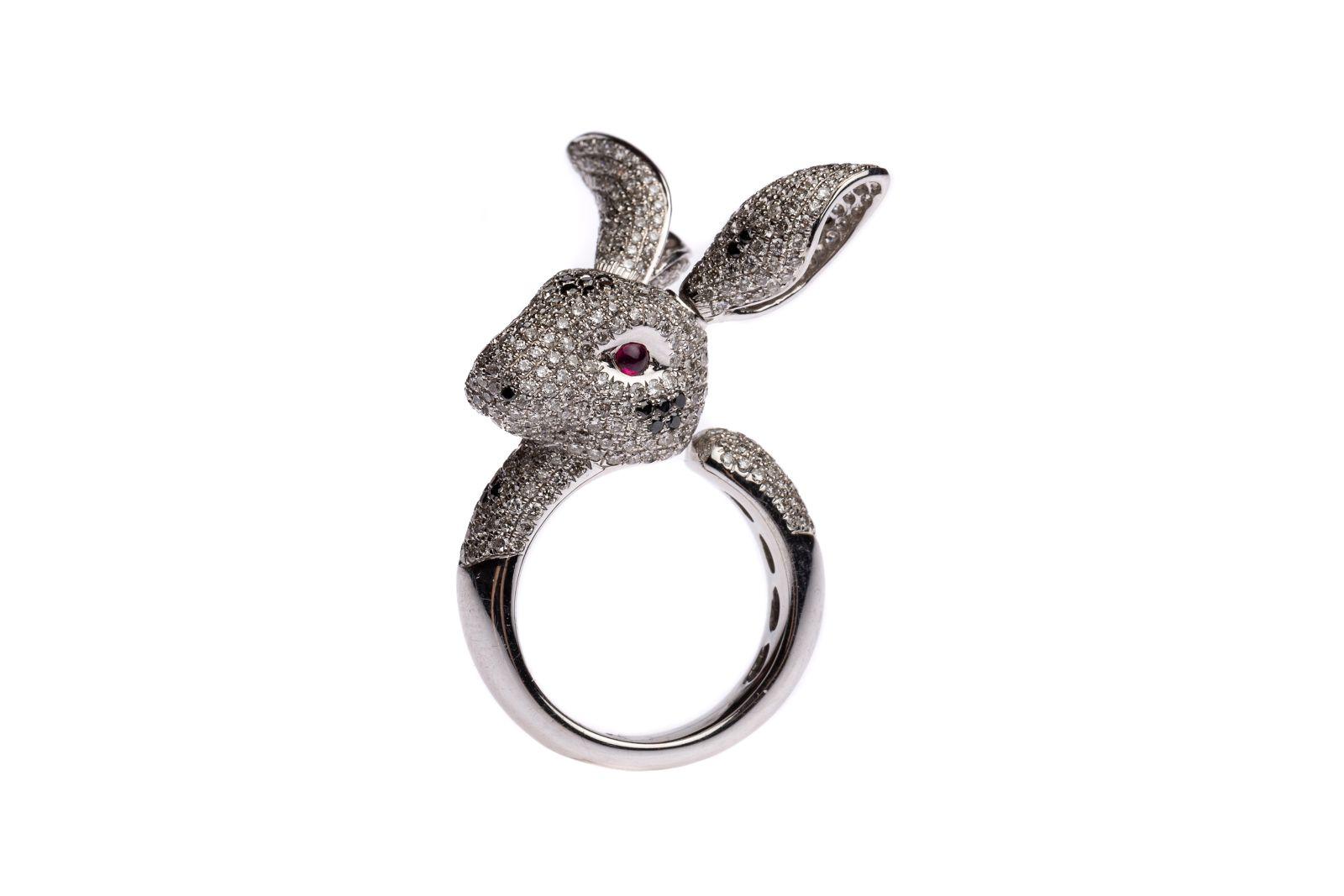 "#91 ""Rabbit"" ring   Hasen-Ring Image"