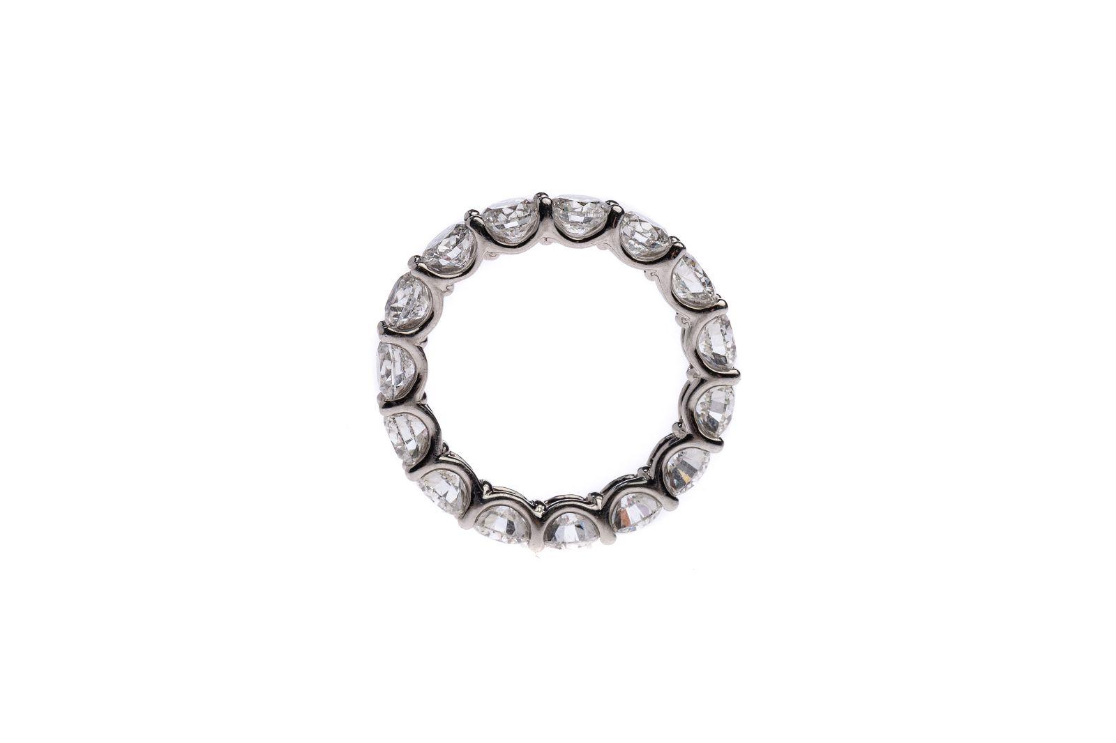 #98 Ladies ring Platin 950 | Damenring Platin 950 Image