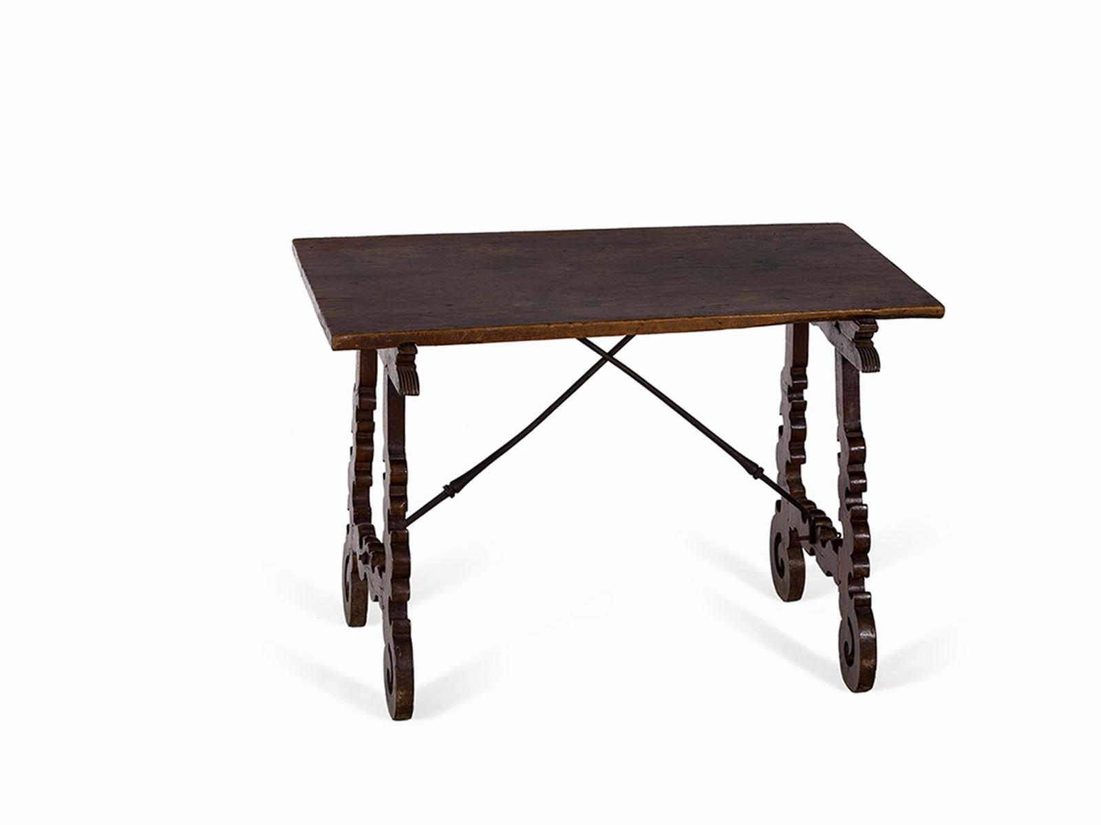 #103 Spanish Table of Solid Walnut, 17th C. | Spanischer Tisch aus Massivem Nussbaum, 17. Jh. Image