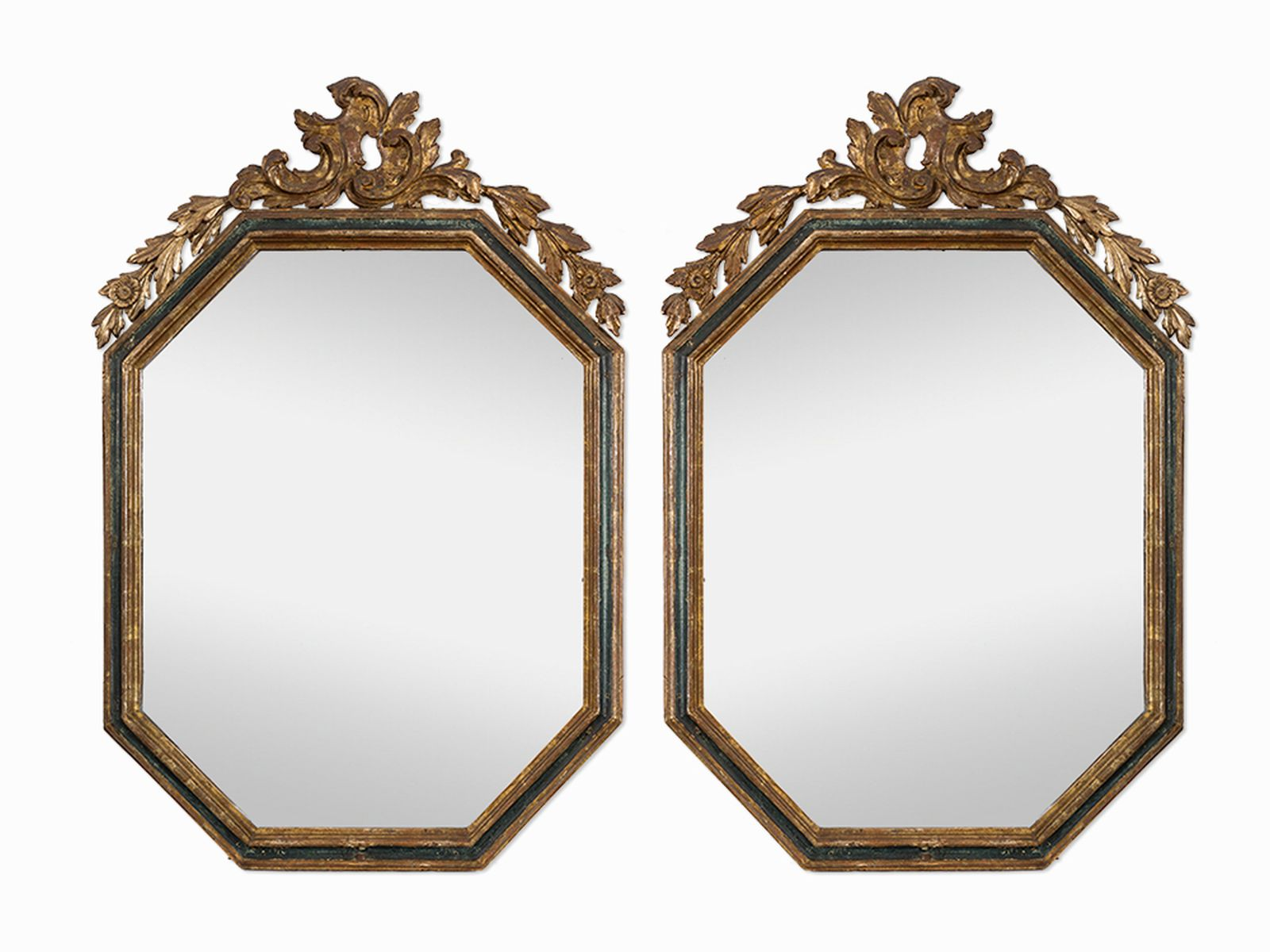 #111 Pair of Wall Mirrors, Spain, 18th C. | Paar Wandspiegel, Spanien, 18. Jh. Image