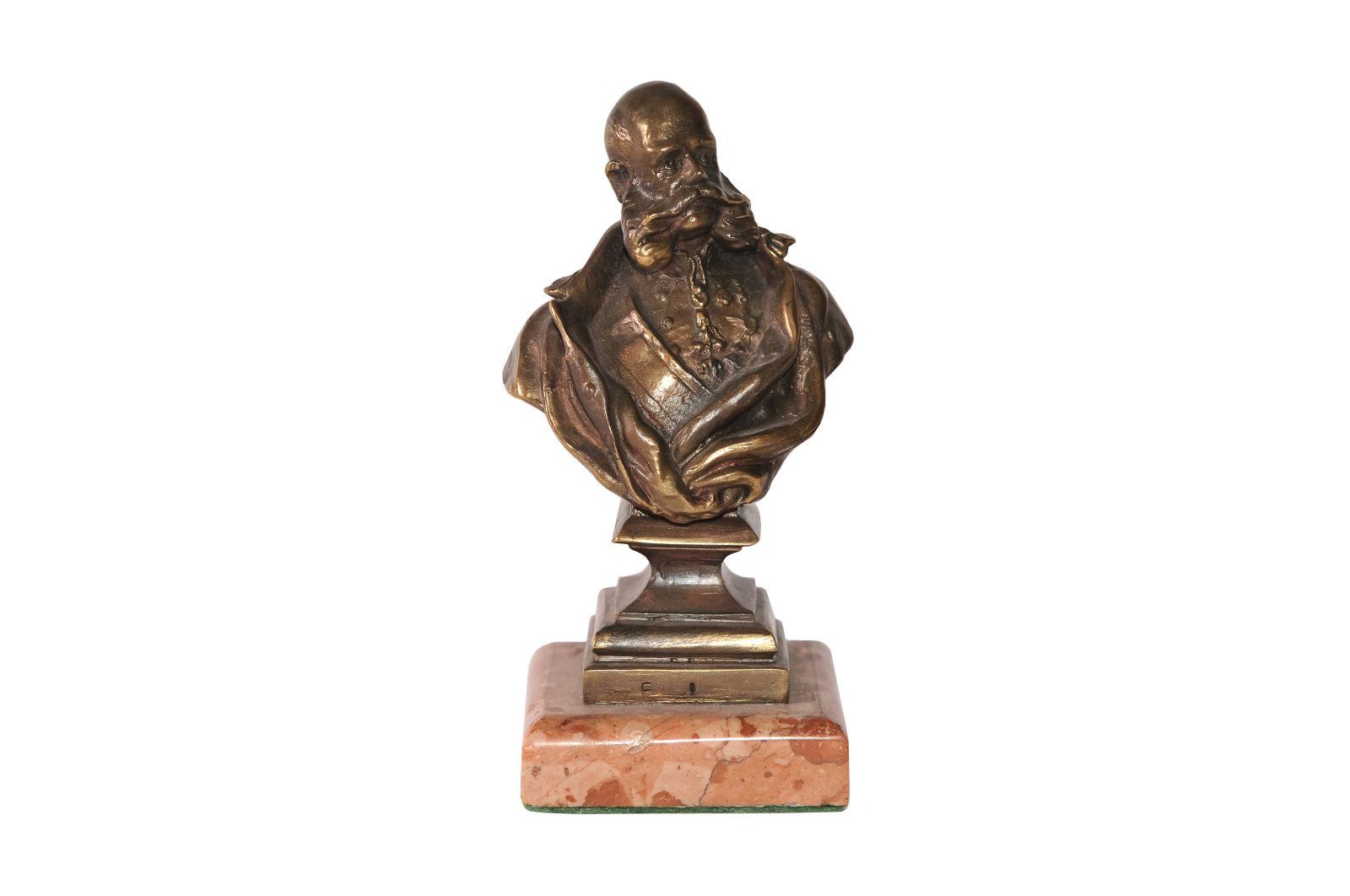 #131 Buste of Emperor Franz Joseph, Vienna around 1910 | Büste Kaiser Franz Joseph um 1910 Image