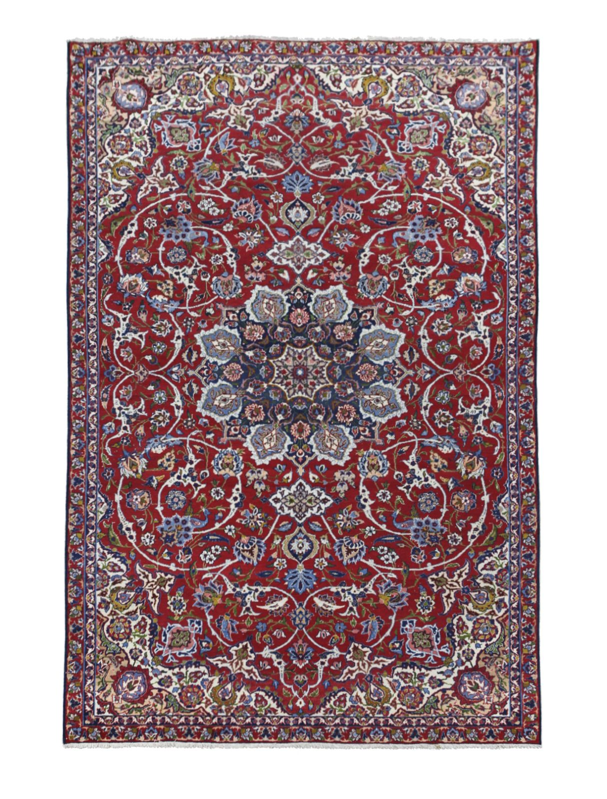 #88 Isfahan wool carpet, 1920-1930 | Isfahan Woll-Teppich, 1920-1930 Image